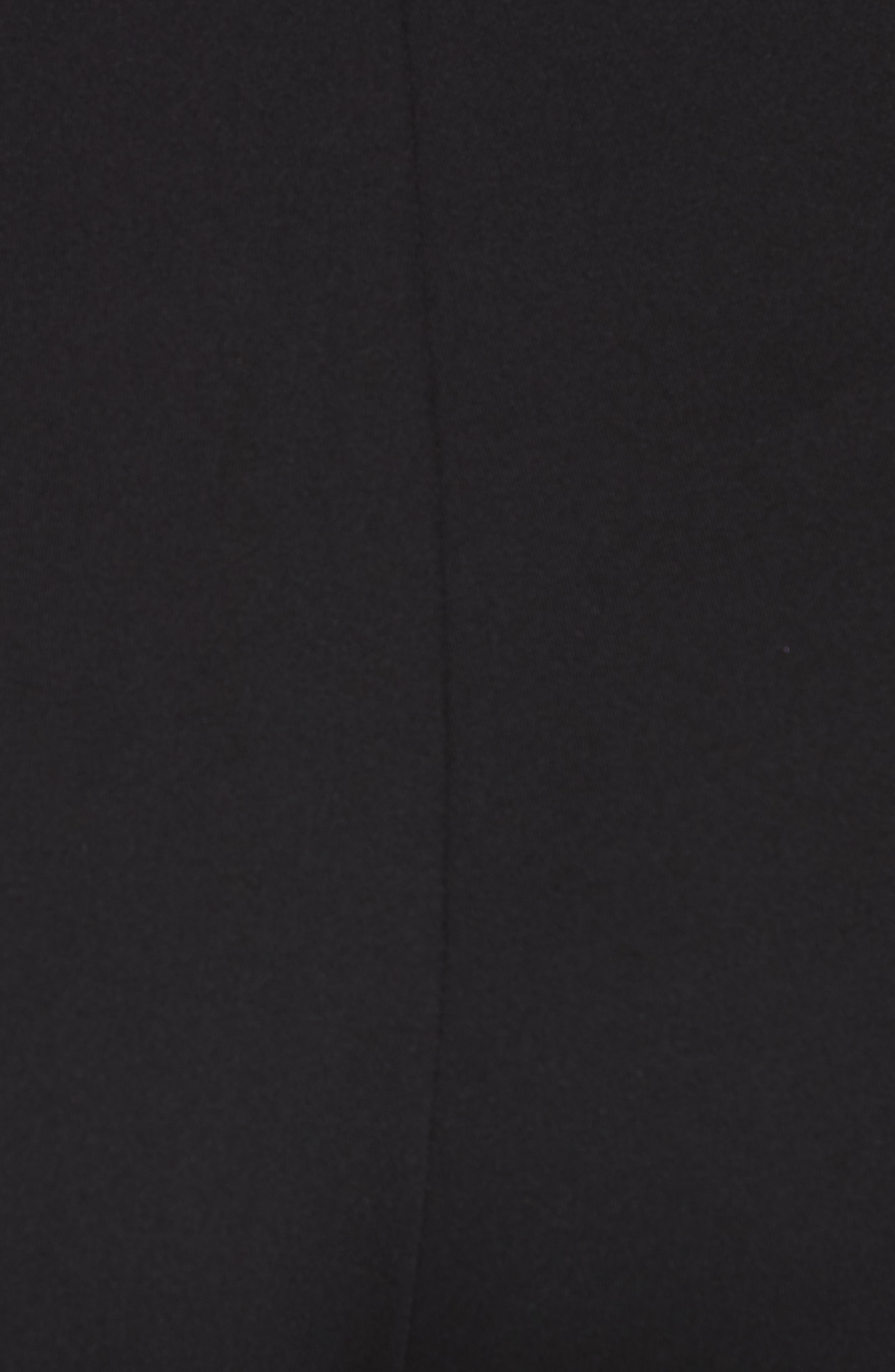 Stirrup Leggings,                             Alternate thumbnail 6, color,                             BLACK