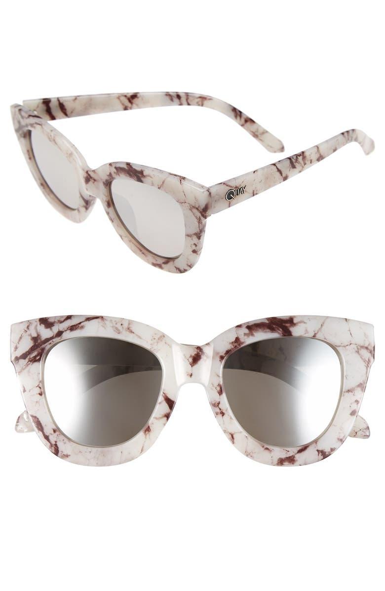 3b2d5b39c4 Quay Australia  Sugar and Spice  50mm Cat Eye Sunglasses
