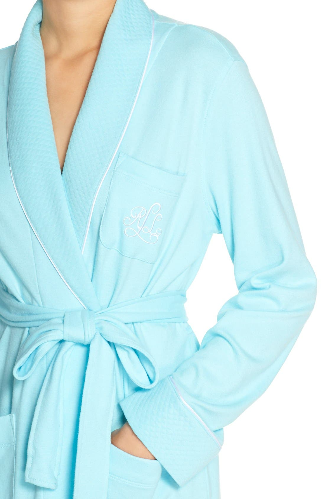 Quilted Collar Robe,                             Alternate thumbnail 62, color,