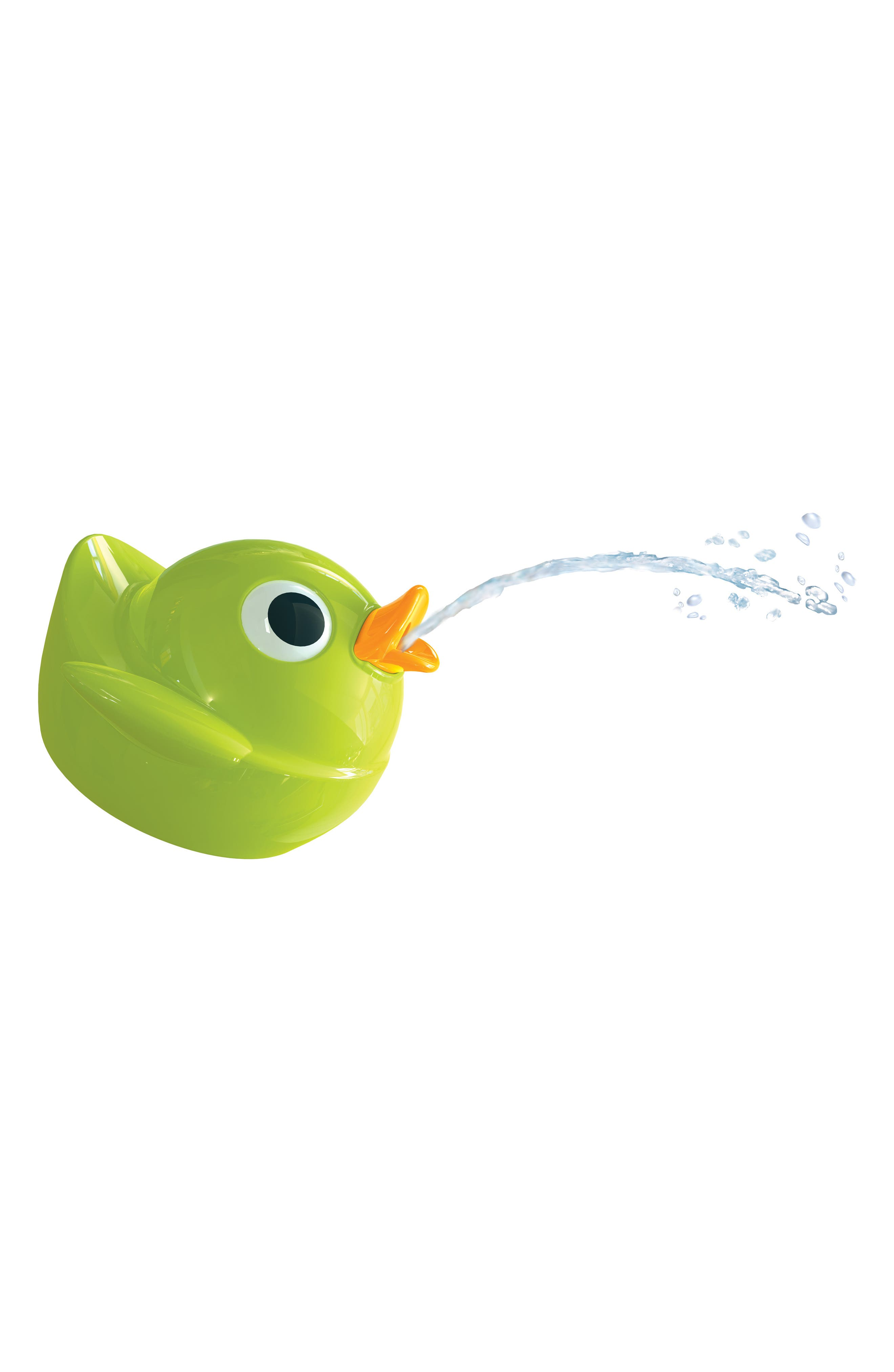 Musical Duck Race Bath Toy,                             Alternate thumbnail 2, color,                             RED