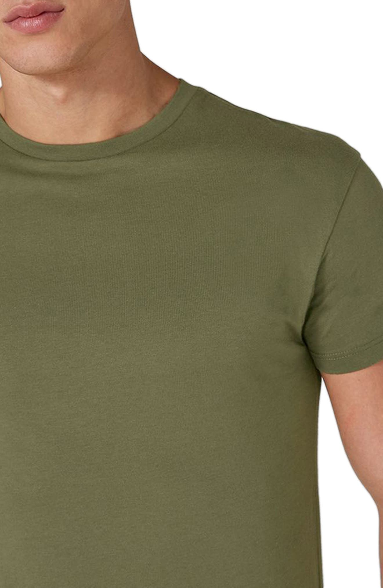 Longline T-Shirt,                             Alternate thumbnail 6, color,