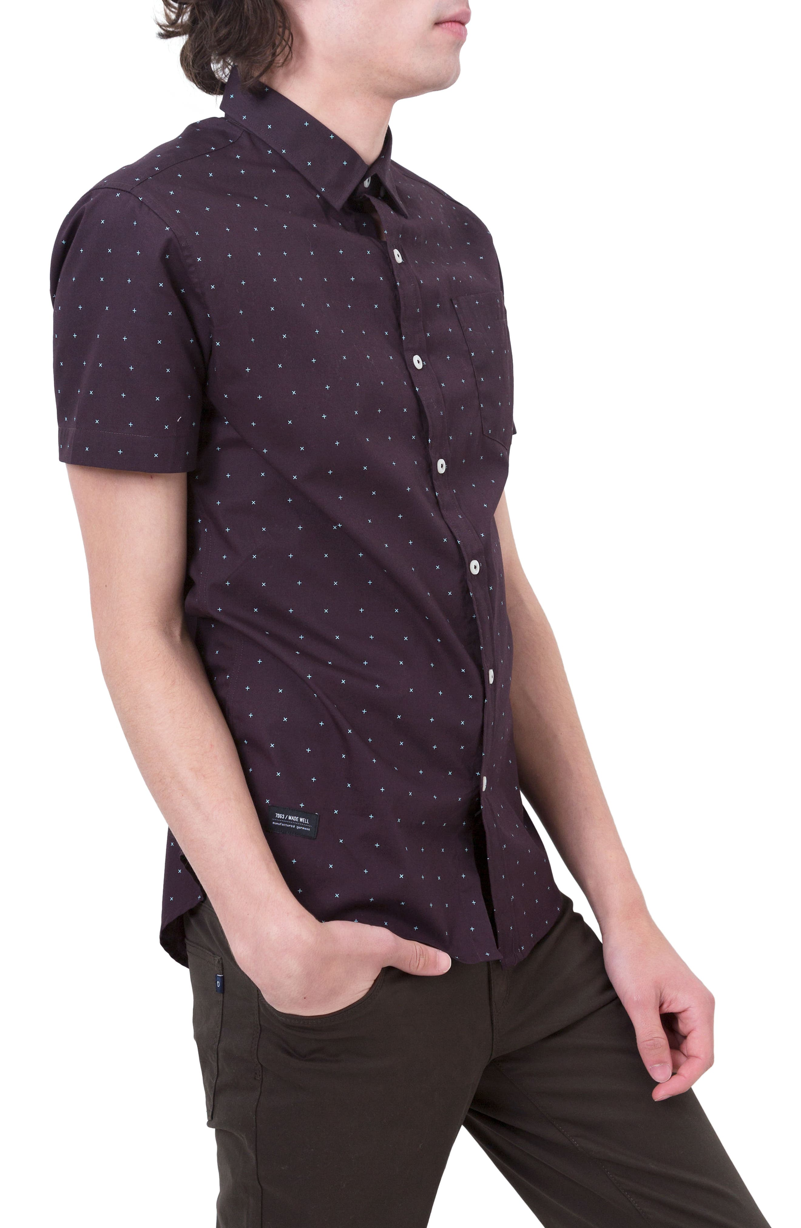Hit Parade Woven Shirt,                             Alternate thumbnail 3, color,                             930