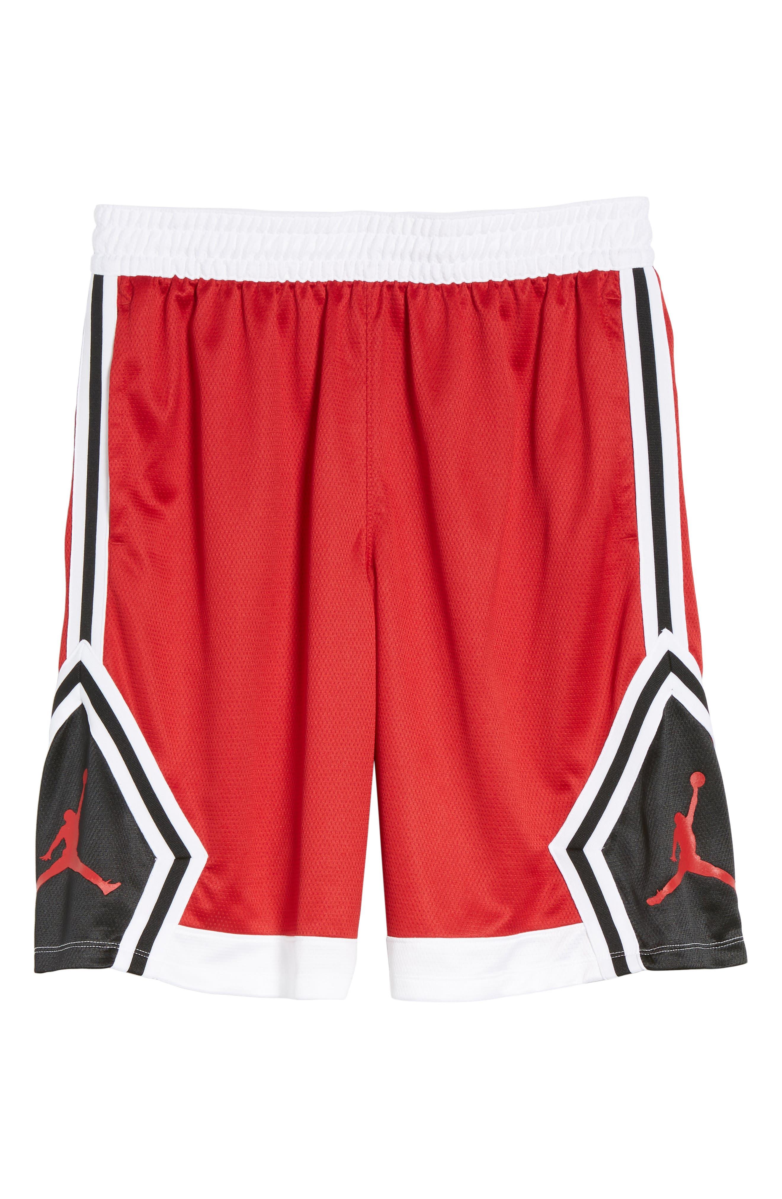 Sportswear Rise Diamond Shorts,                             Alternate thumbnail 36, color,