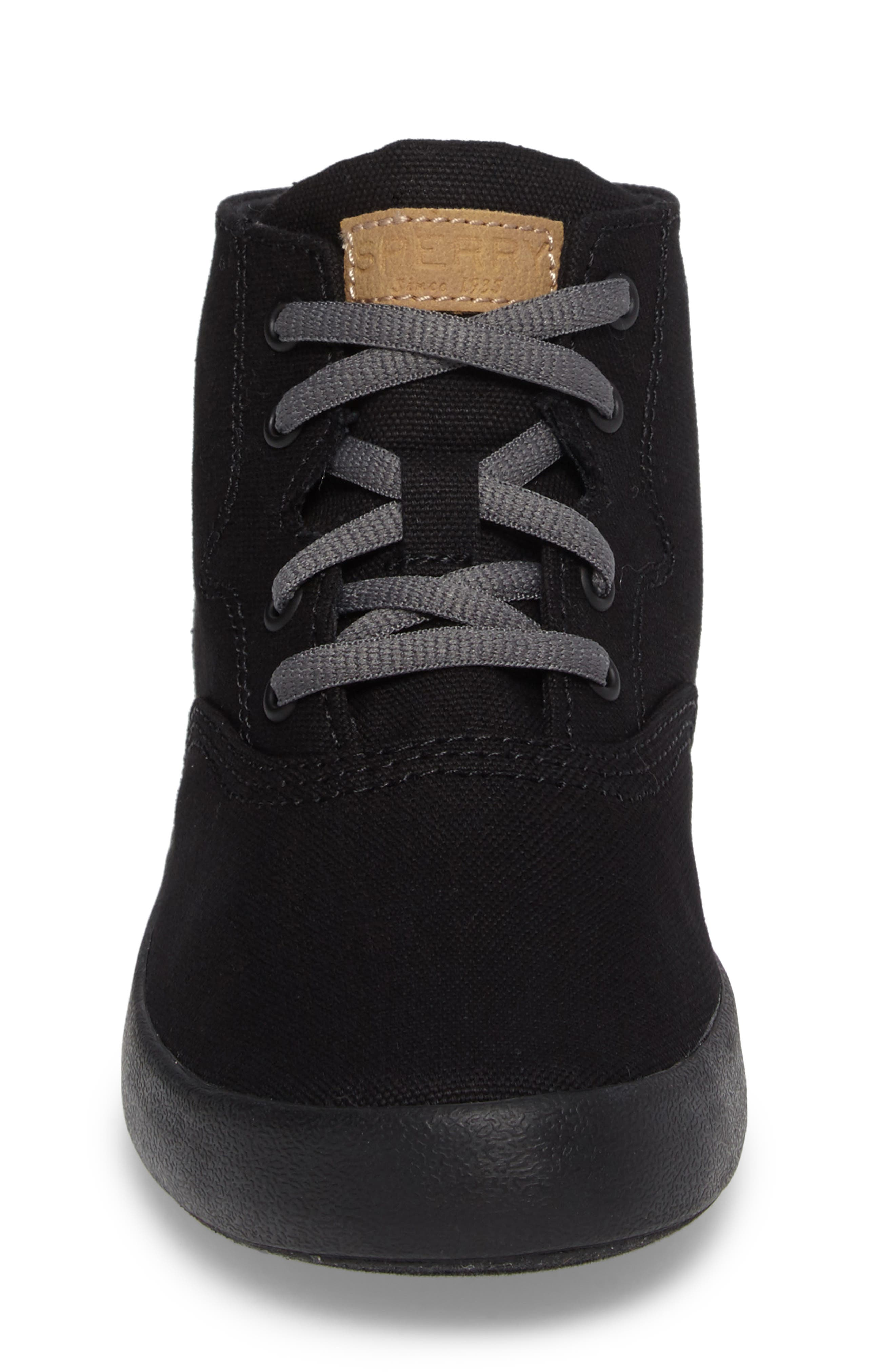 Wahoo Mid-Top Sneaker,                             Alternate thumbnail 4, color,                             001