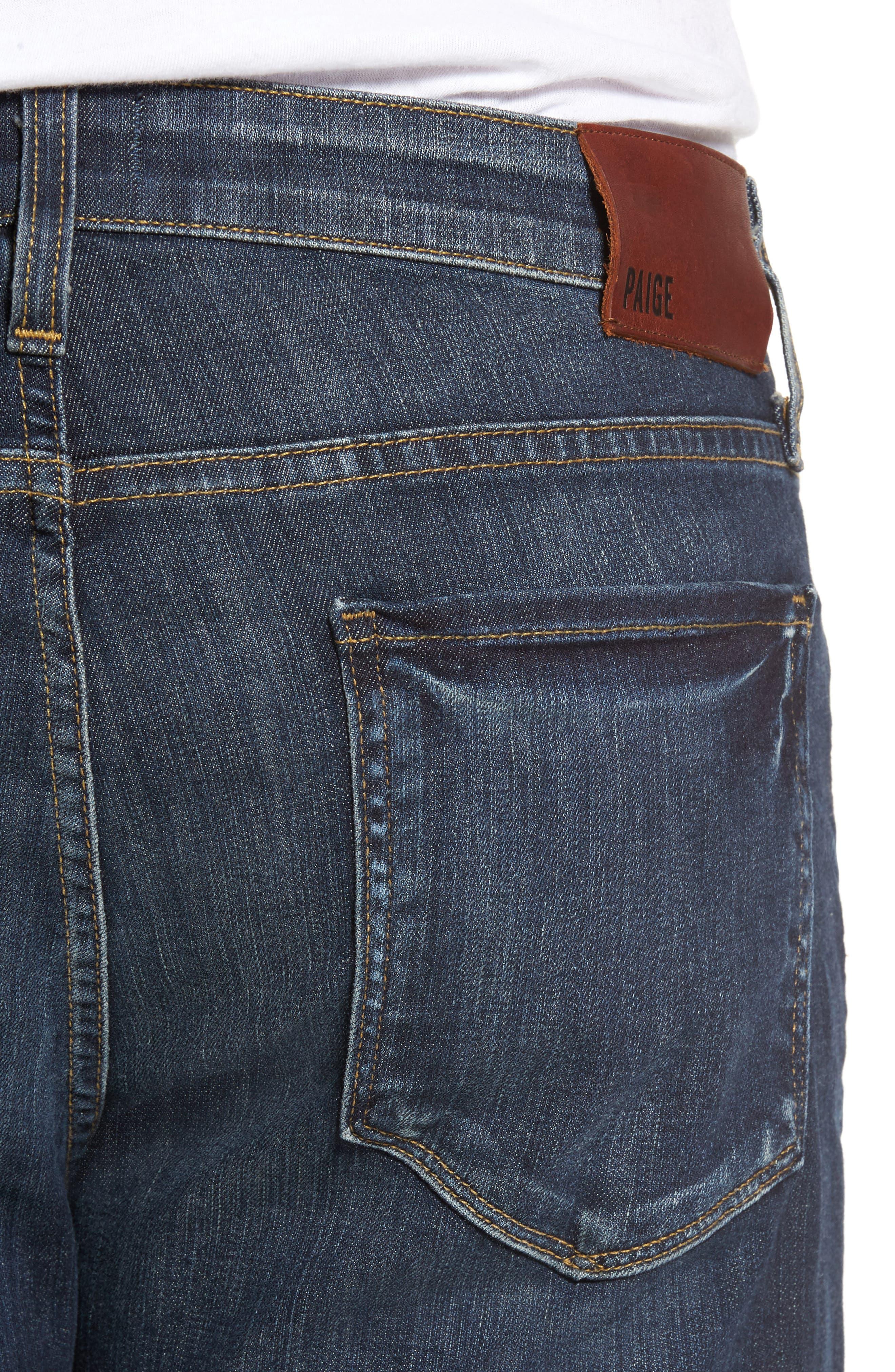 PAIGE,                             Legacy - Federal Slim Straight Leg Jeans,                             Alternate thumbnail 4, color,                             400