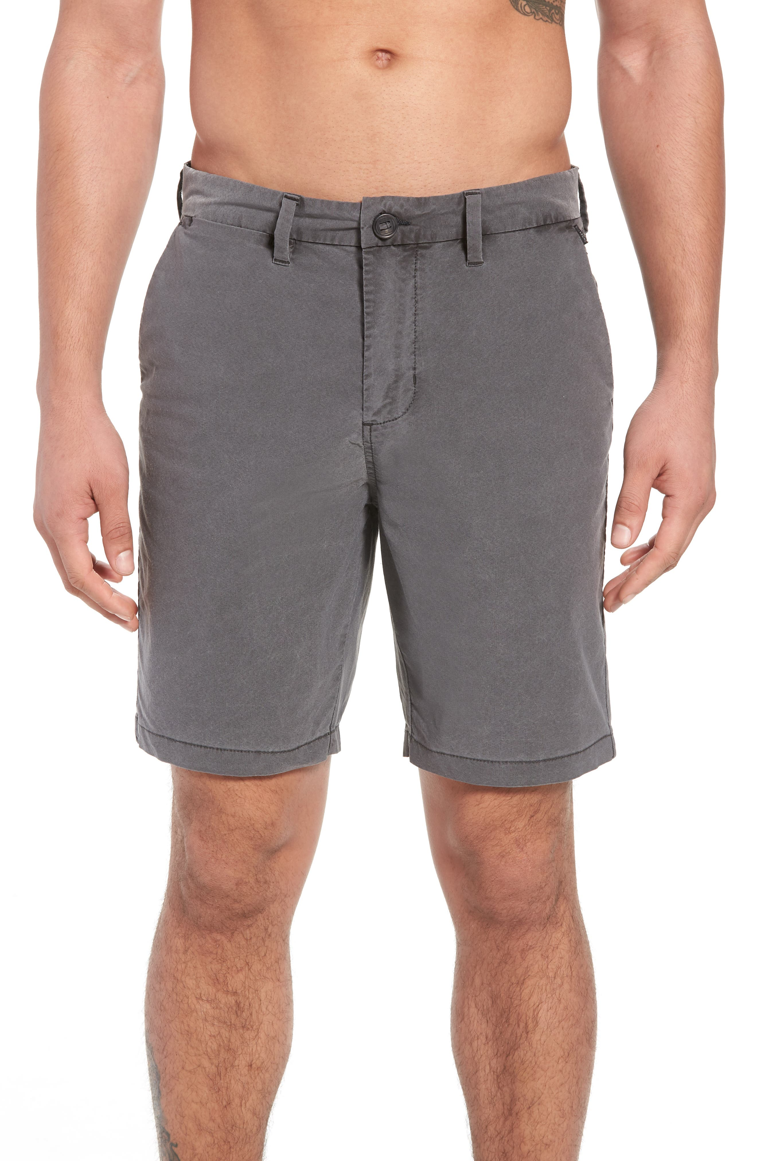 BILLABONG New Order X Overdye Hybrid Shorts, Main, color, 001