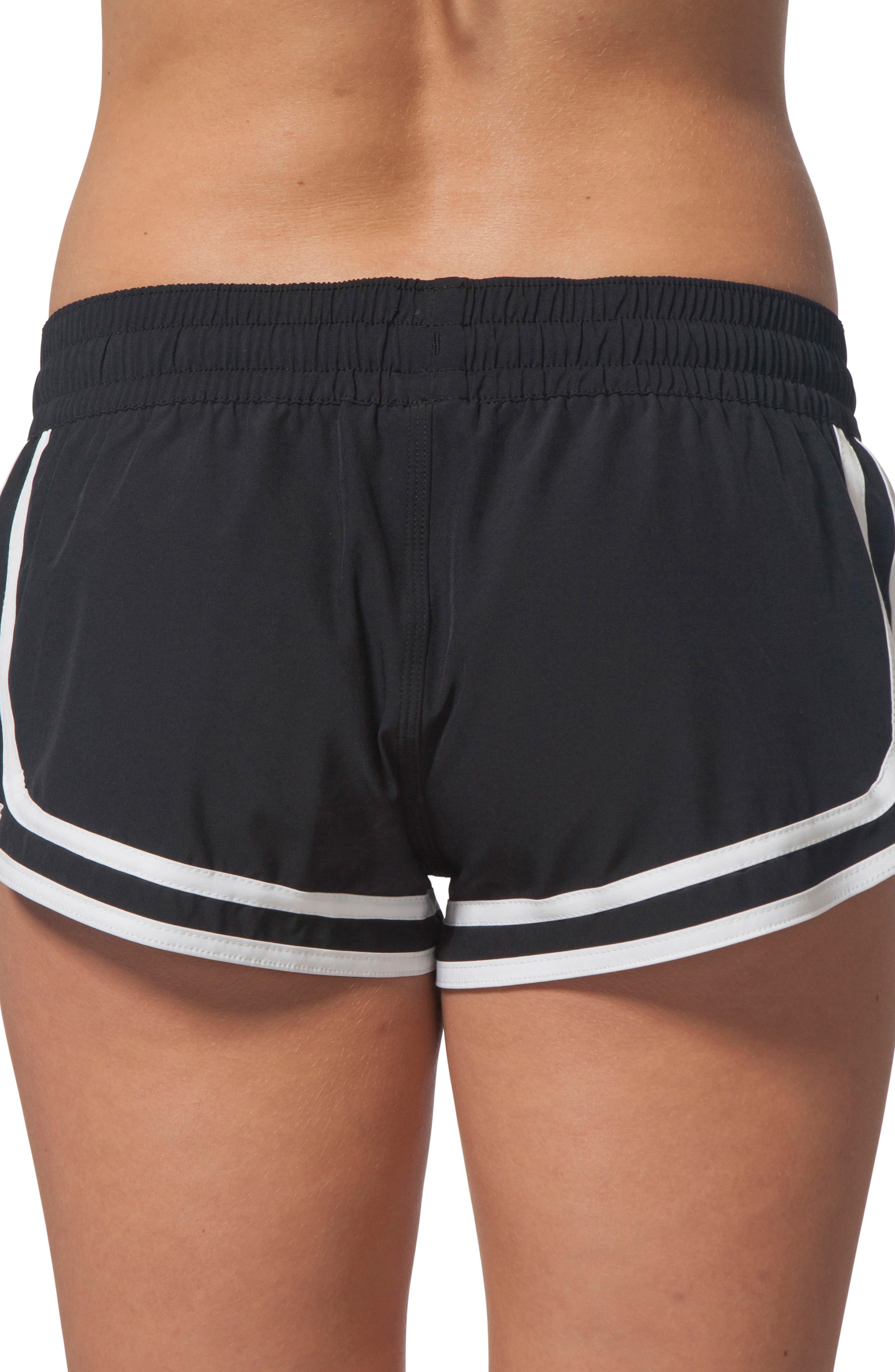 Search Vibes Board Shorts,                             Alternate thumbnail 2, color,                             BLACK