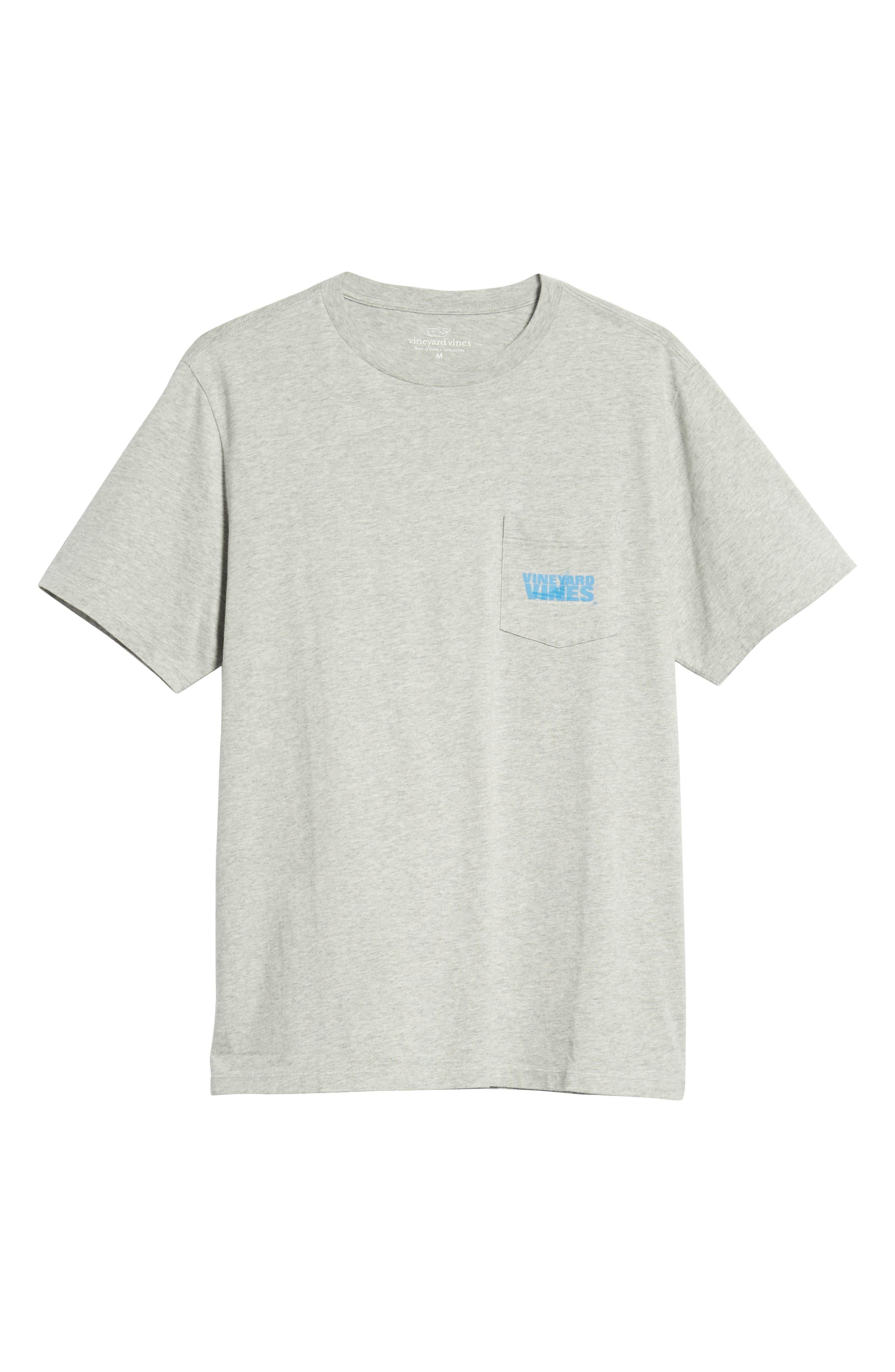 Knockout Sportfisher T-Shirt,                             Alternate thumbnail 6, color,                             GRAY HEATHER