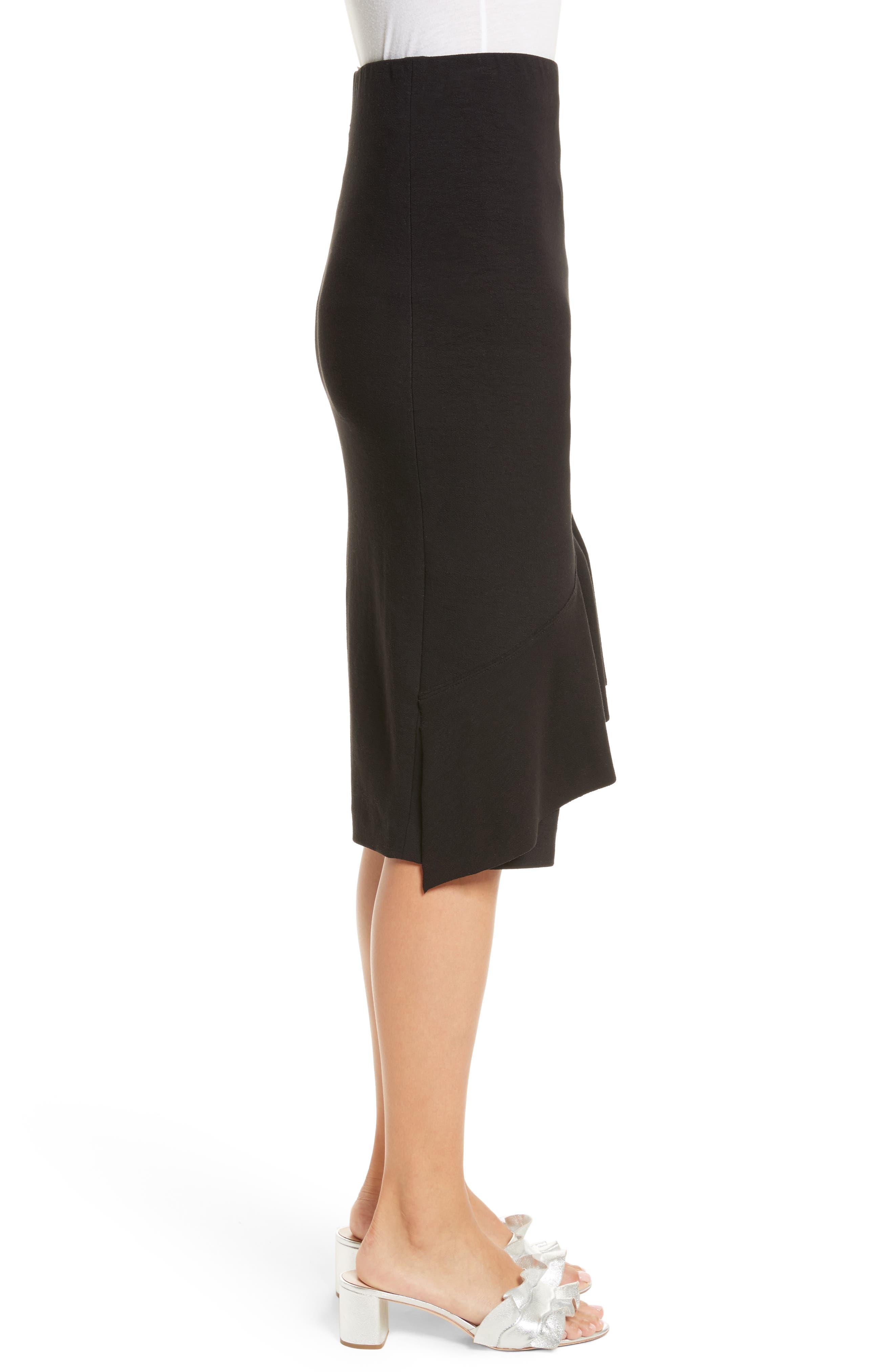 Three-Vent Skirt,                             Alternate thumbnail 3, color,                             001