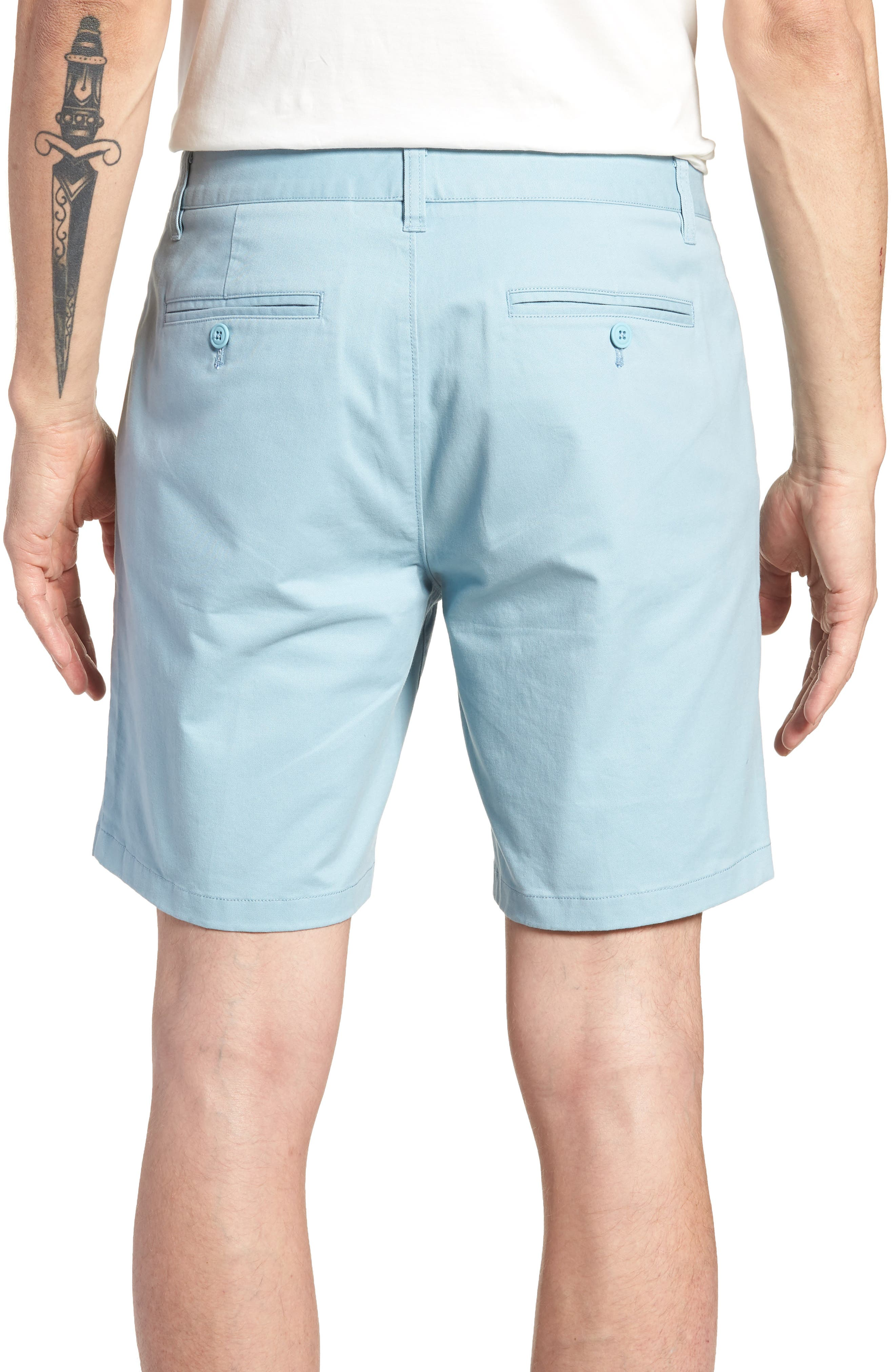 Stretch Chino 7-Inch Shorts,                             Alternate thumbnail 19, color,