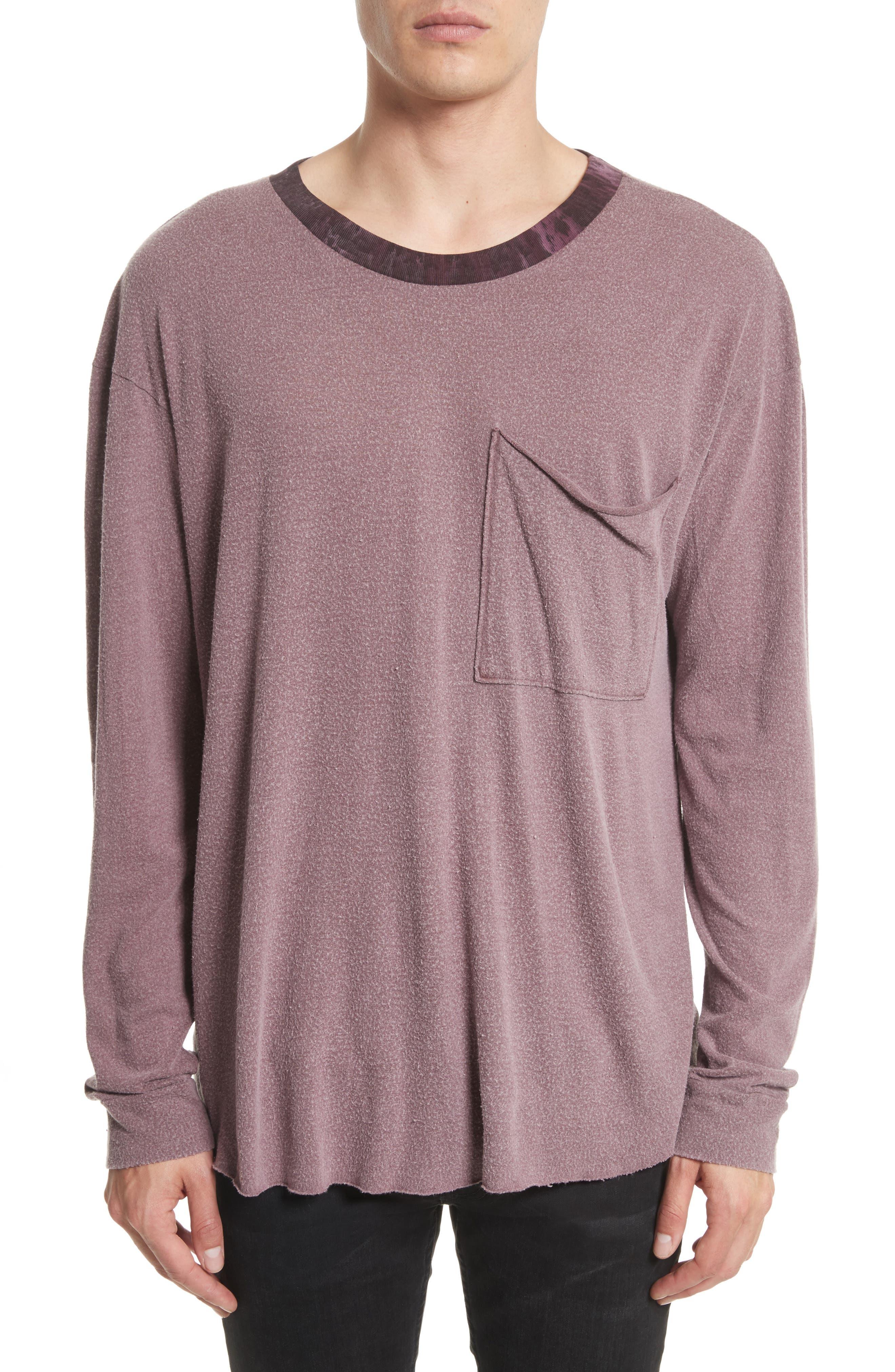Tide Long Sleeve Pocket T-Shirt,                             Main thumbnail 1, color,                             649