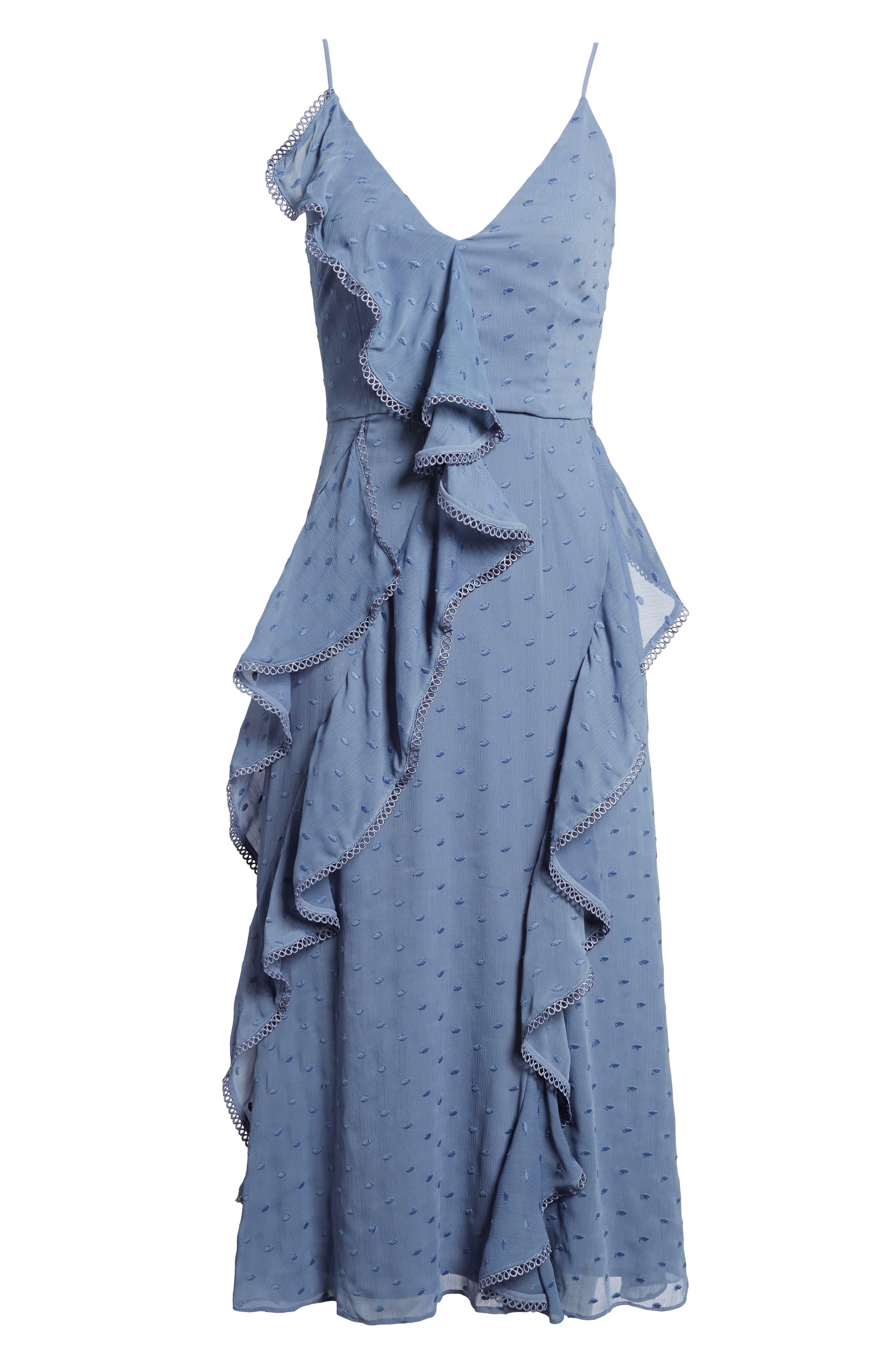 Hideaway Midi Dress,                             Alternate thumbnail 6, color,                             400