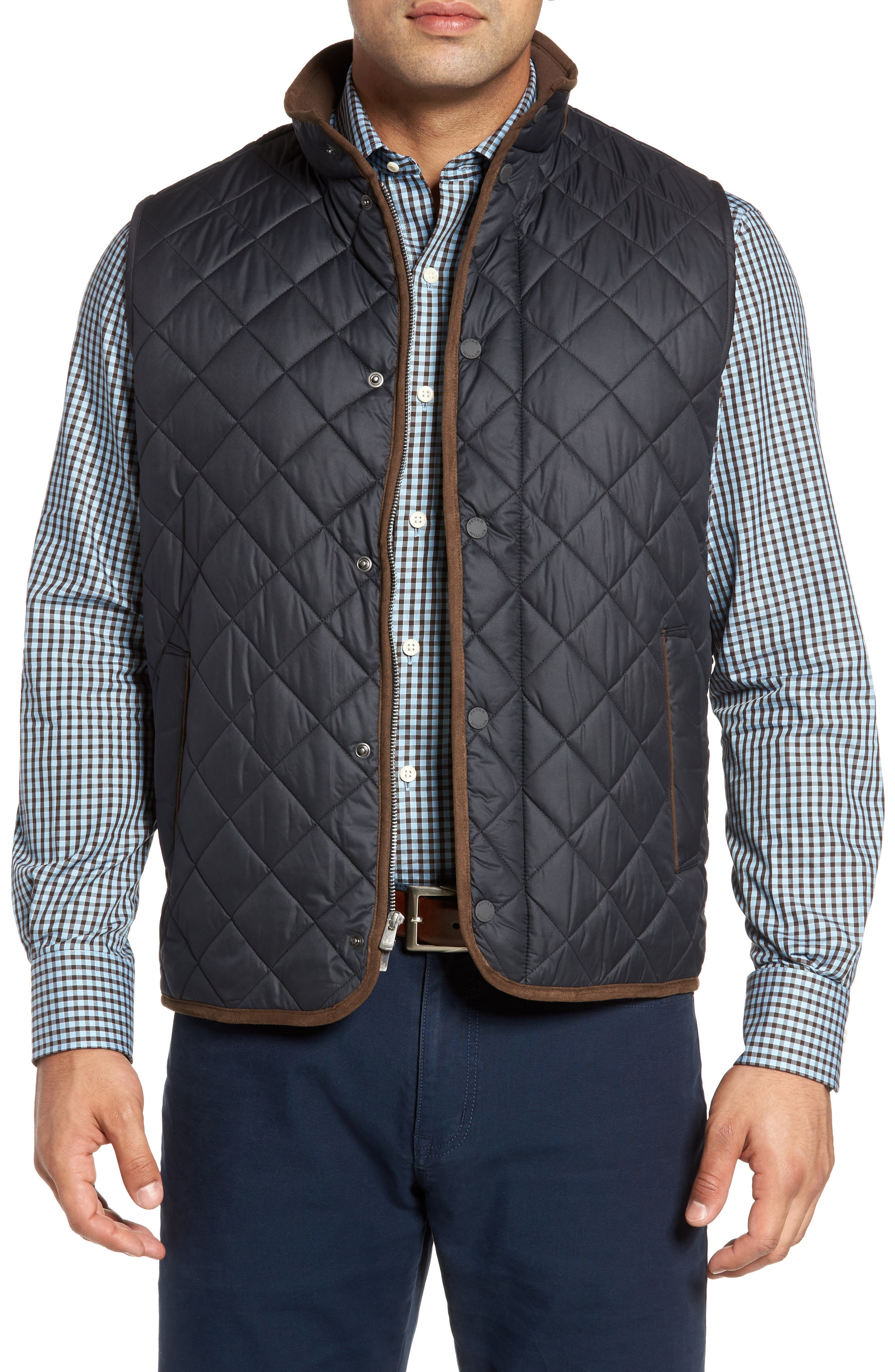 Essex Quilted Vest,                         Main,                         color, 001