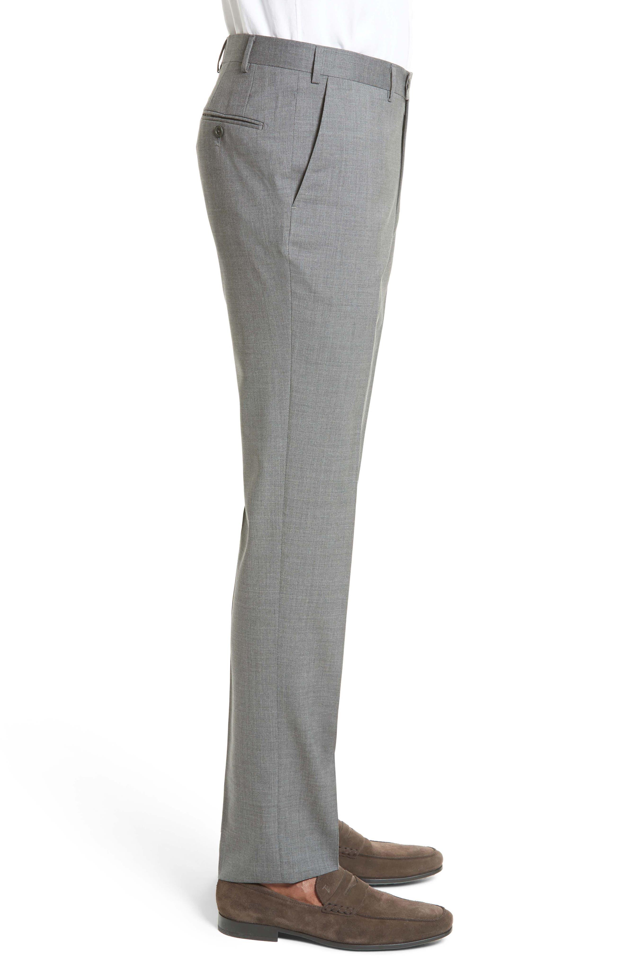 Tropical Wool Suit Trousers,                             Alternate thumbnail 3, color,                             020