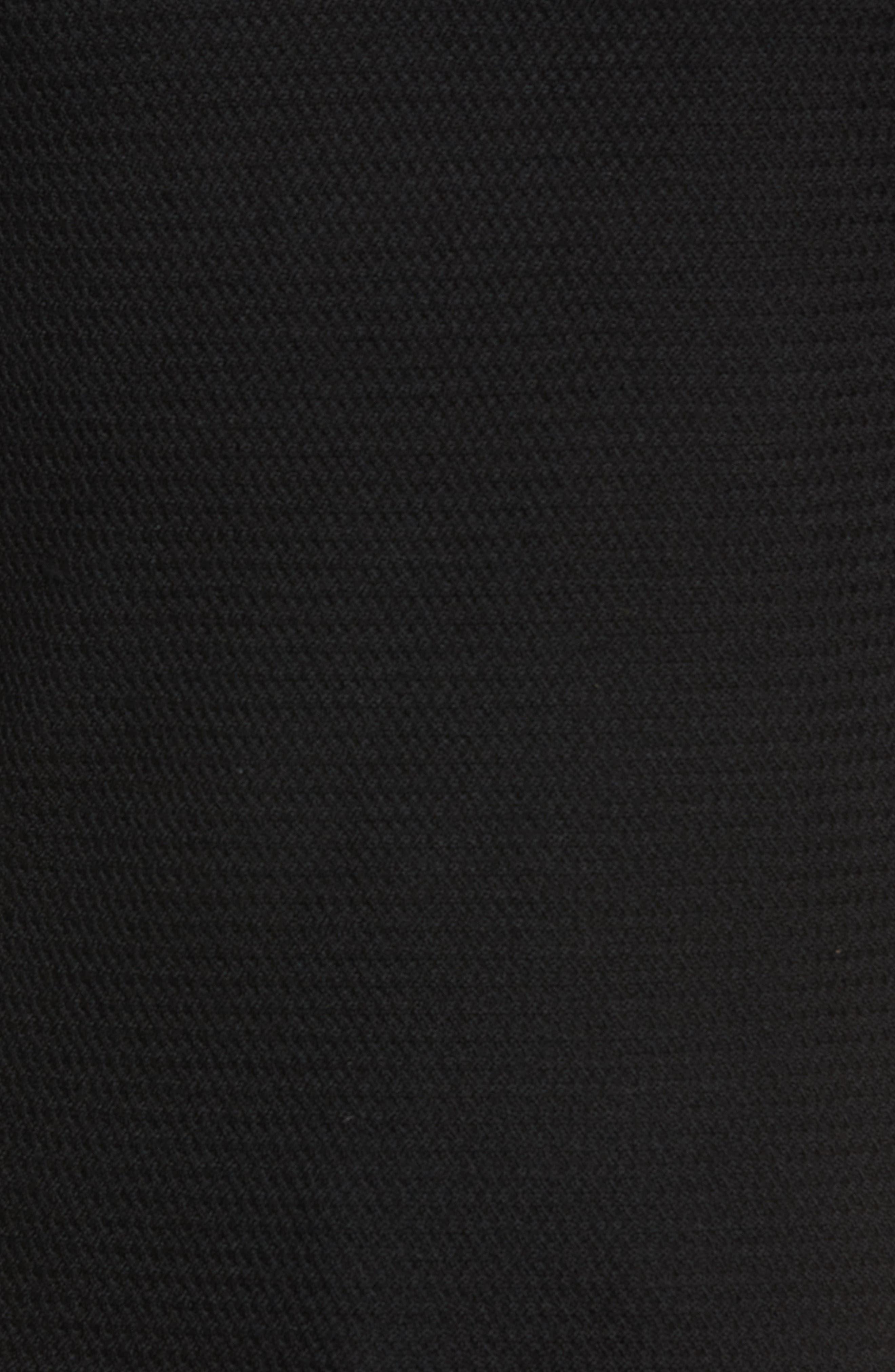 Hawthorn Wool Blend Thermal,                             Alternate thumbnail 5, color,                             BLACK