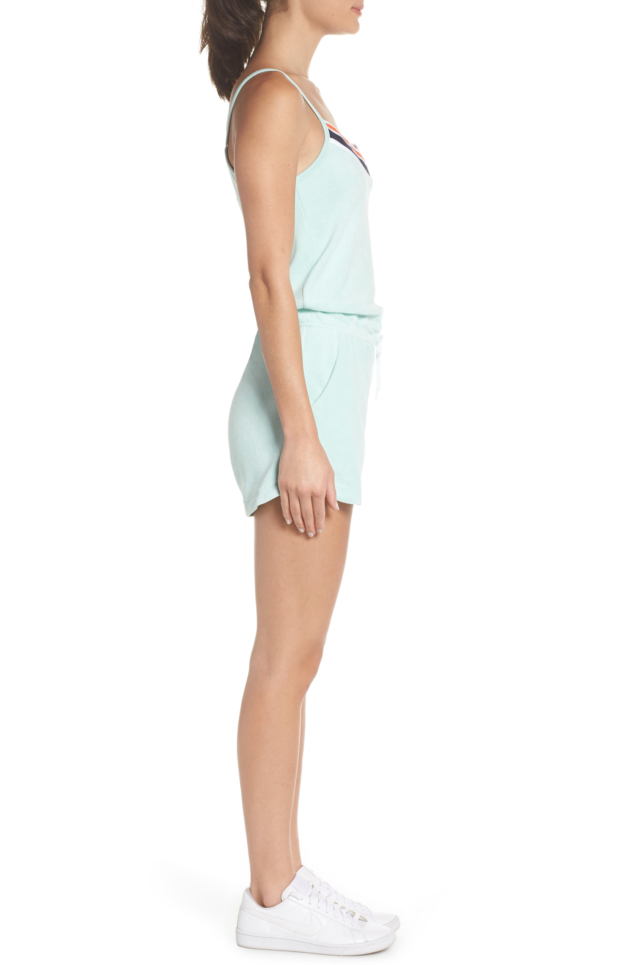 Sportswear Terry Romper,                             Alternate thumbnail 3, color,                             457