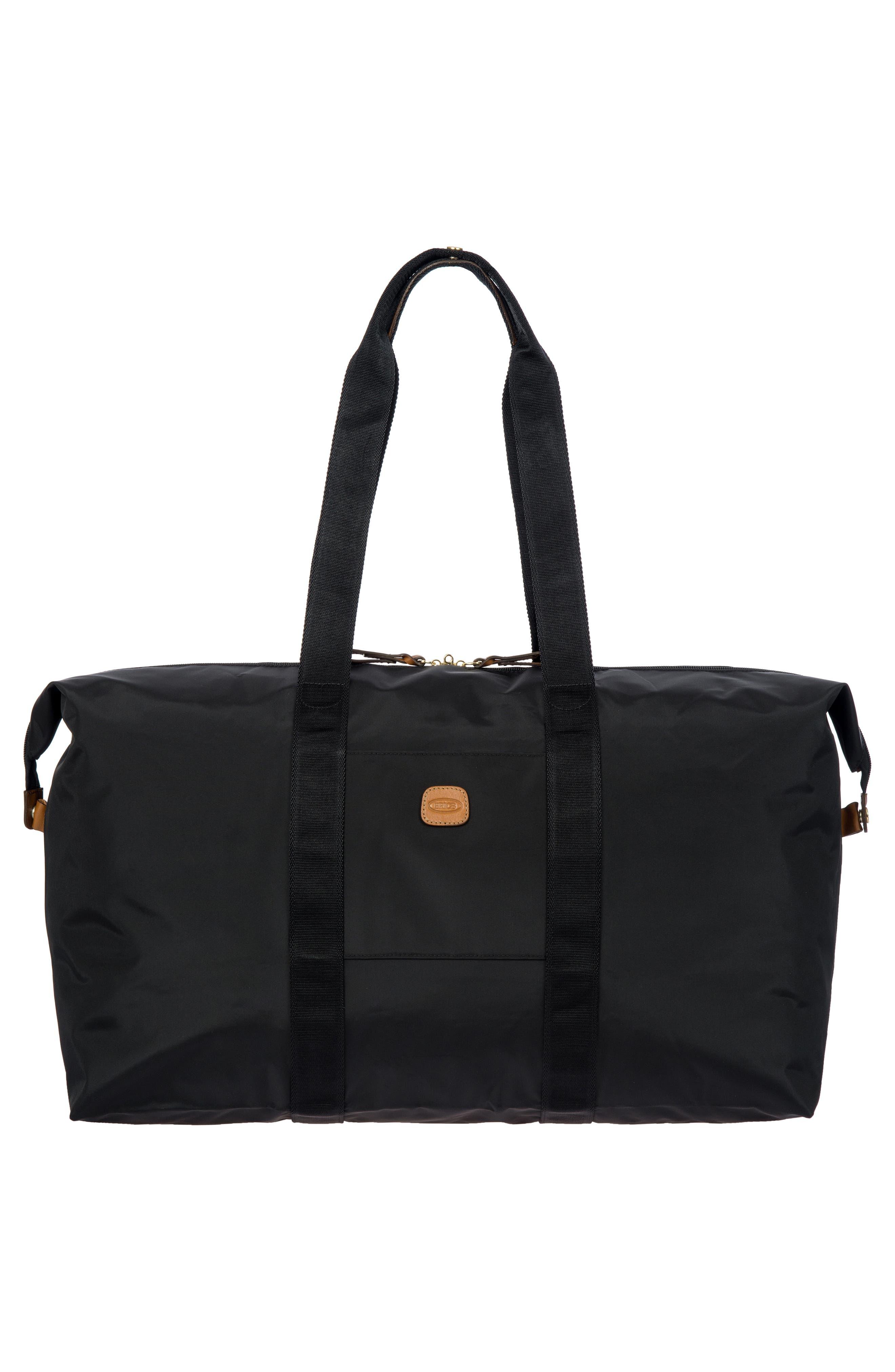 X-Bag 22-Inch Folding Duffel Bag,                             Alternate thumbnail 5, color,                             BLACK