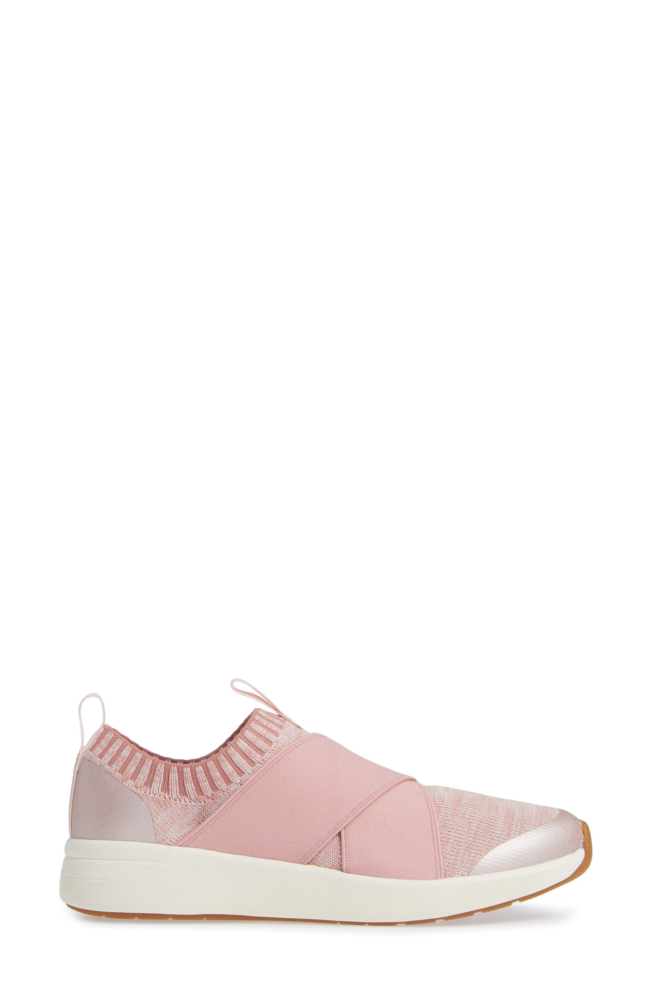KEDS<SUP>®</SUP>,                             Studio Jumper Knit Sneaker,                             Alternate thumbnail 3, color,                             LIGHT PINK