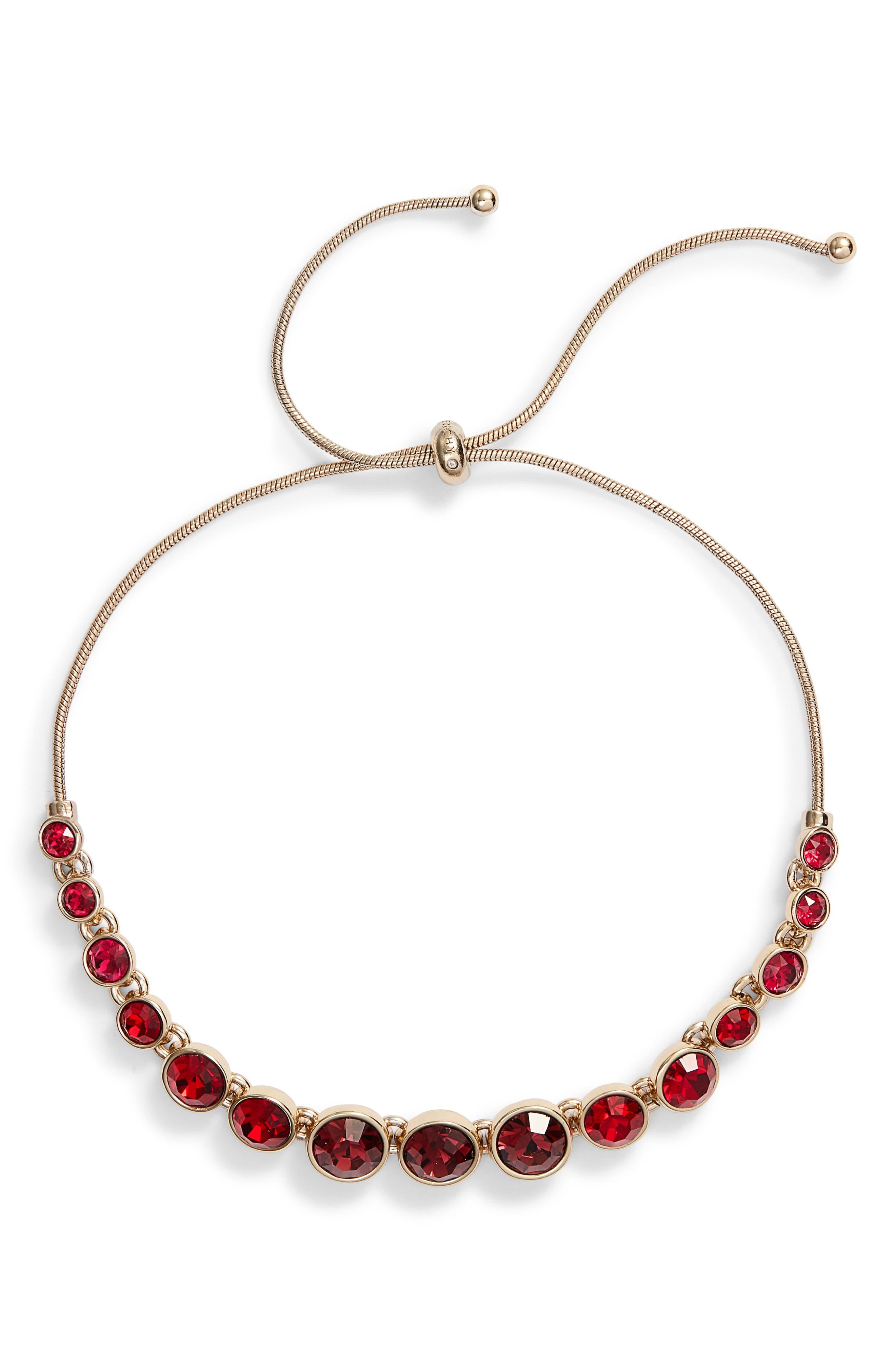 Stone Slider Bracelet,                         Main,                         color, 600