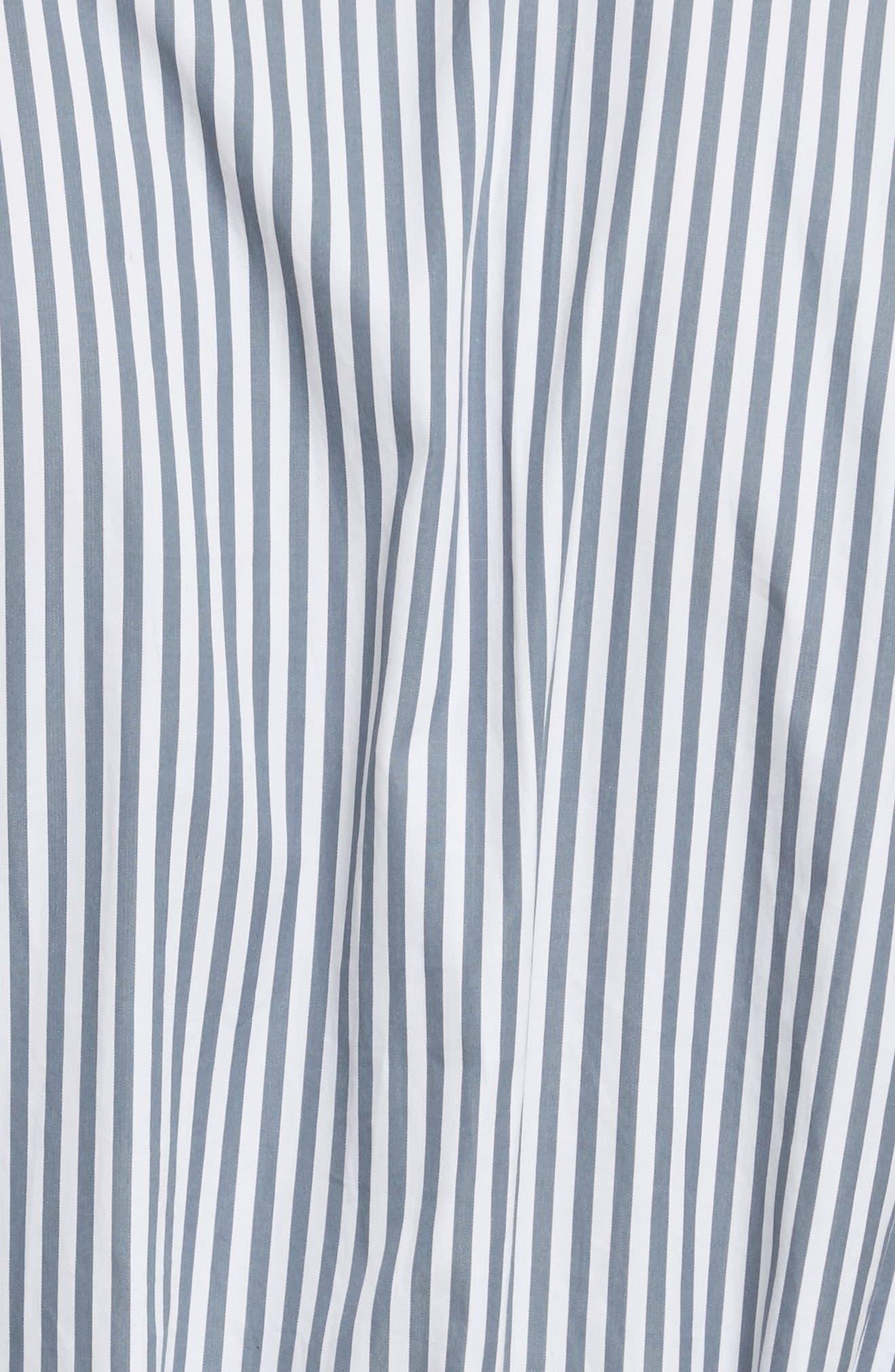 Candy Stripe Midi Dress,                             Alternate thumbnail 5, color,