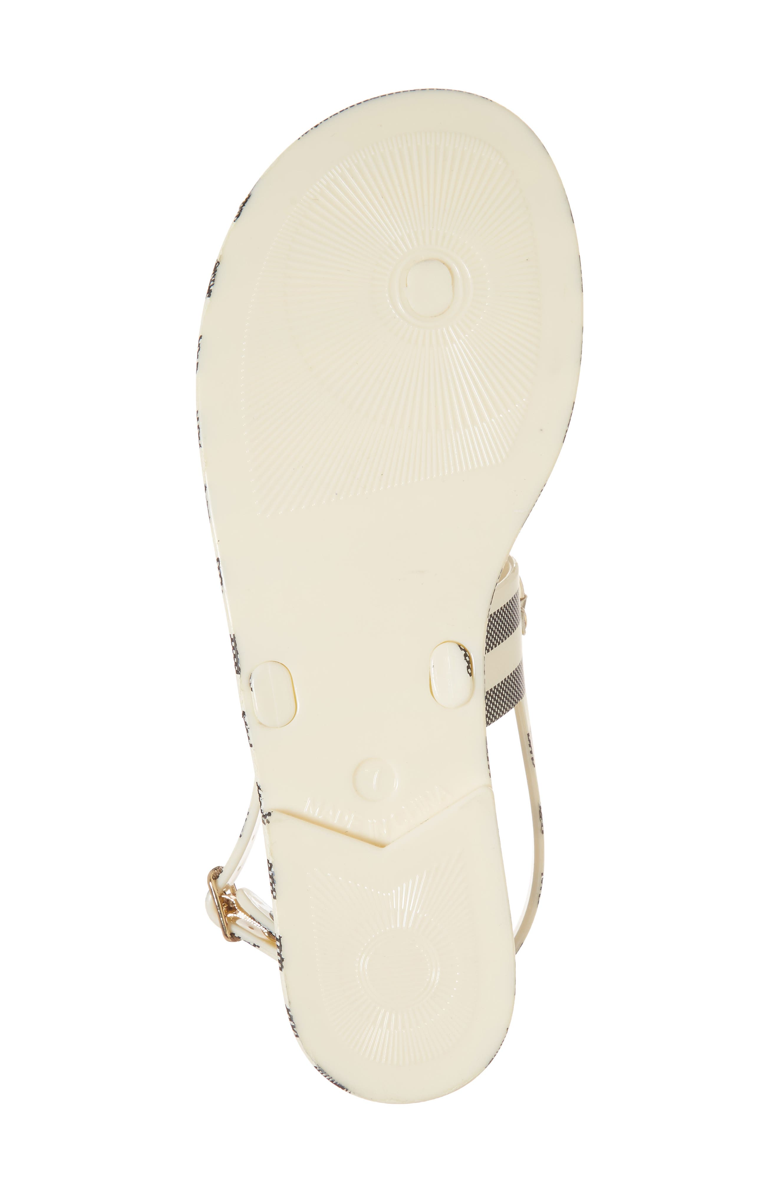 polly slingback sandal,                             Alternate thumbnail 6, color,                             012