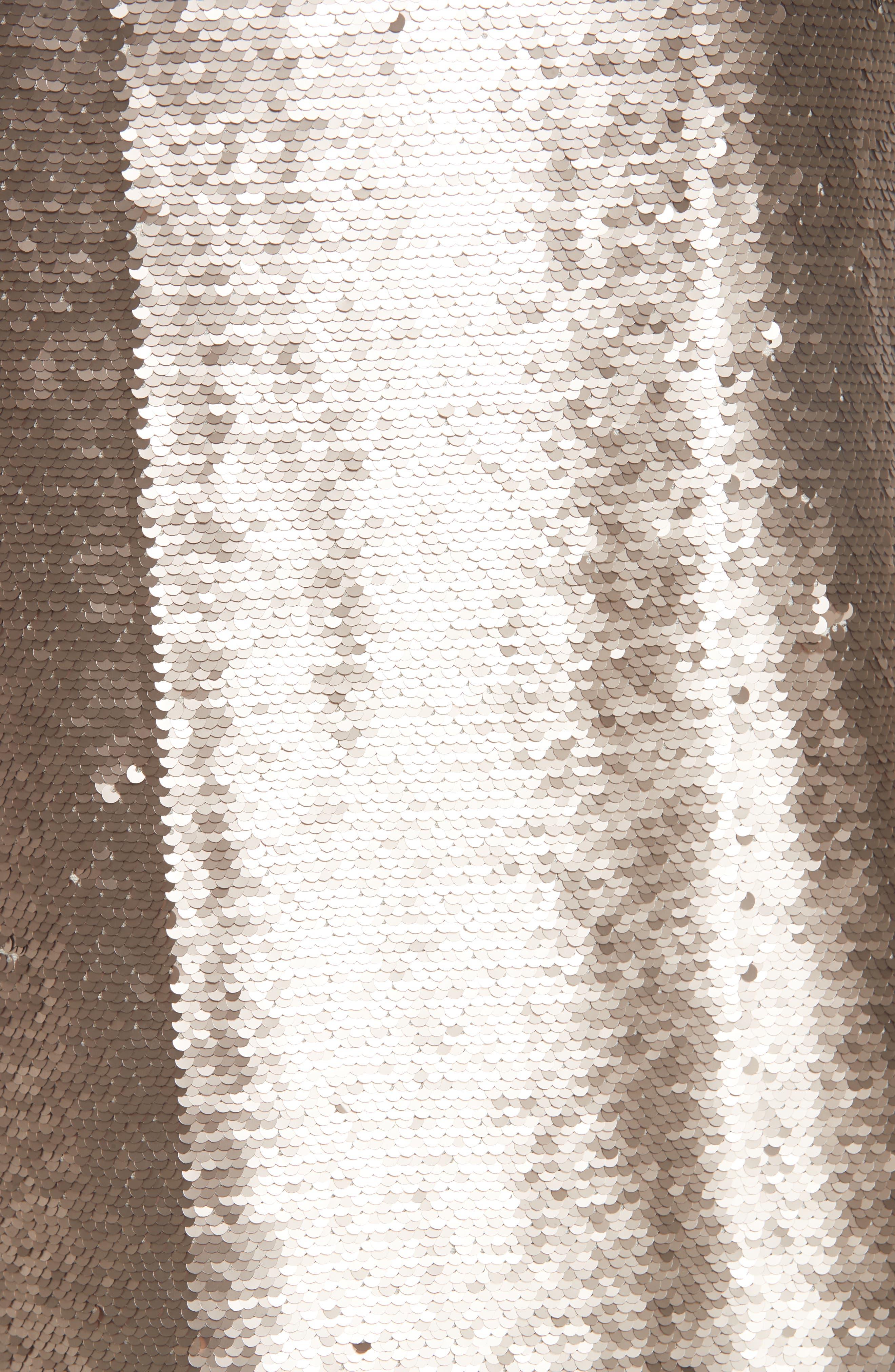 Emmalyn Sequin Slipdress,                             Alternate thumbnail 5, color,                             710