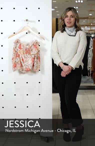 Cosenza Off the Shoulder Crop Top, sales video thumbnail