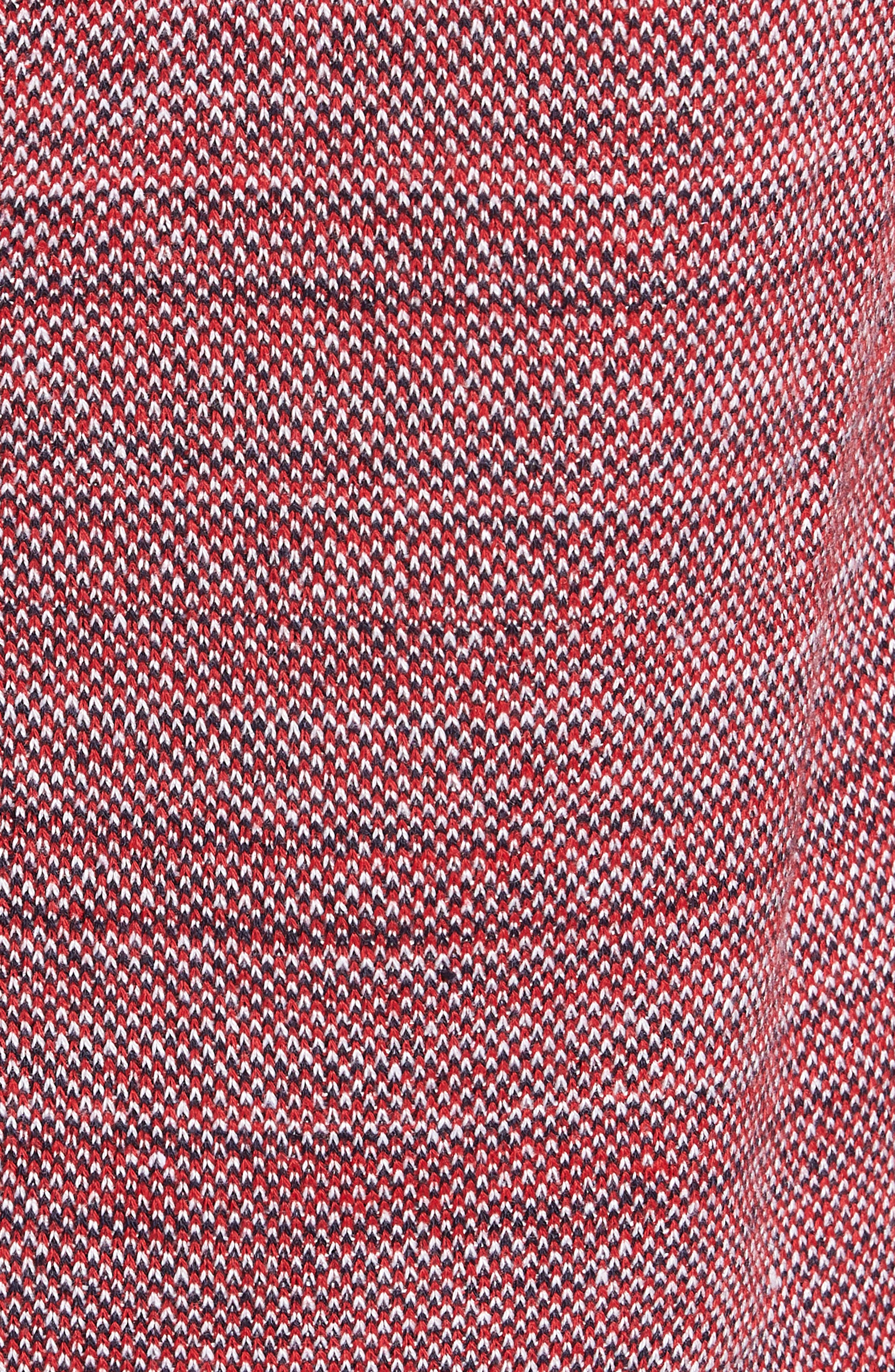 Inside Out Sweater,                             Alternate thumbnail 5, color,                             RED