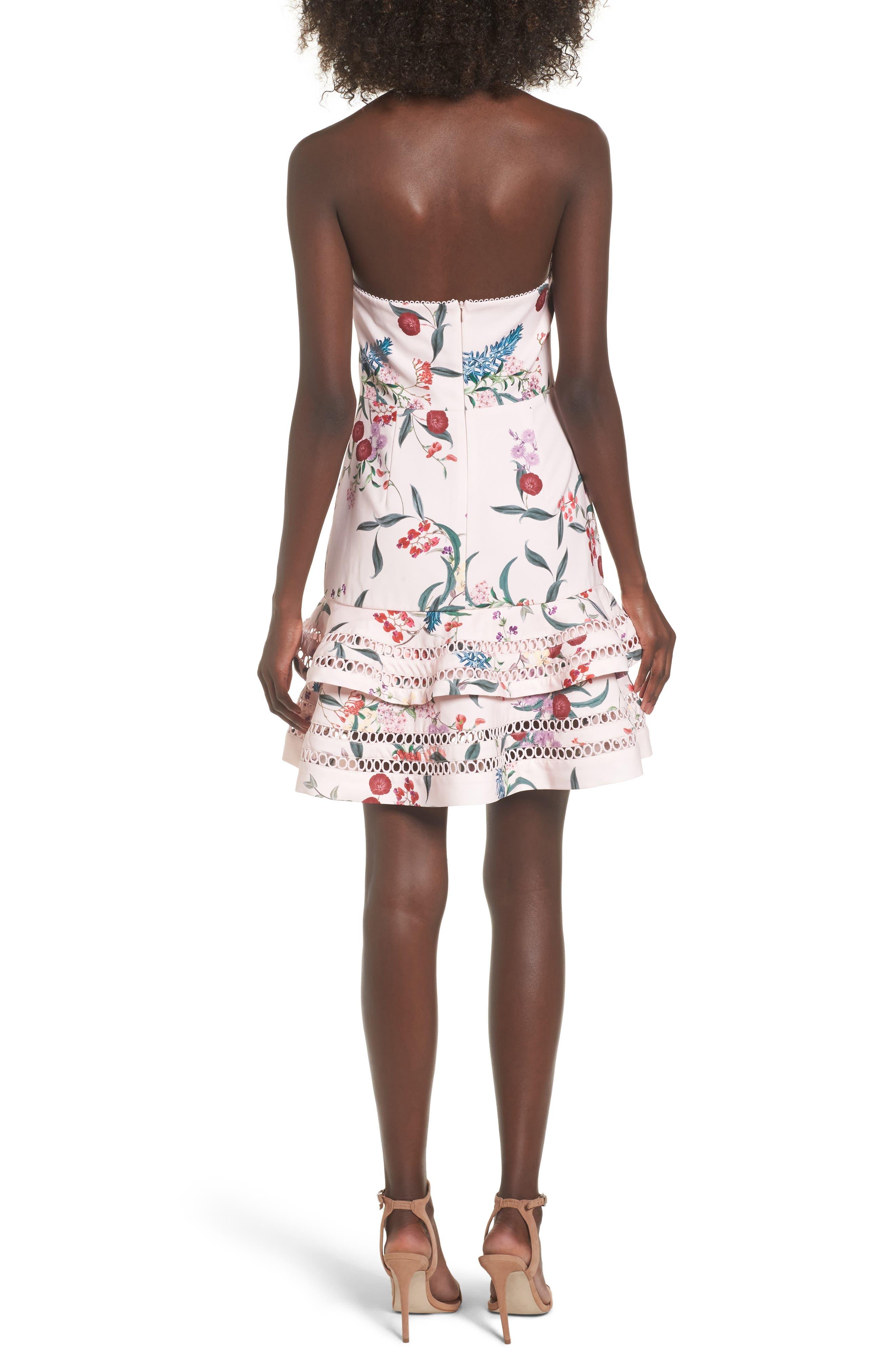 Indulge Halter A-Line Dress,                             Alternate thumbnail 2, color,                             650