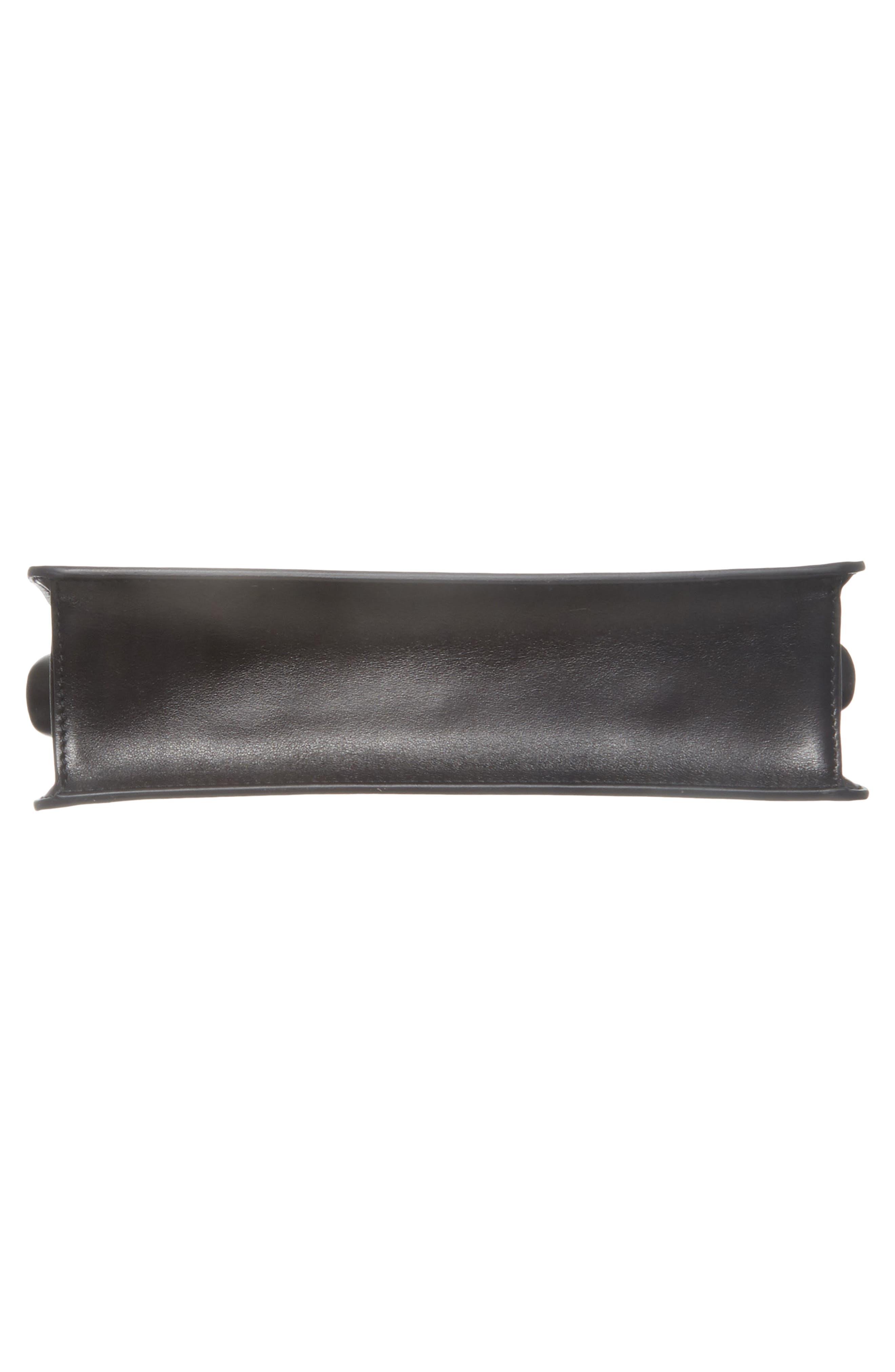 PRADA,                             Spazzolato Calfskin Crossbody Bag,                             Alternate thumbnail 7, color,                             001