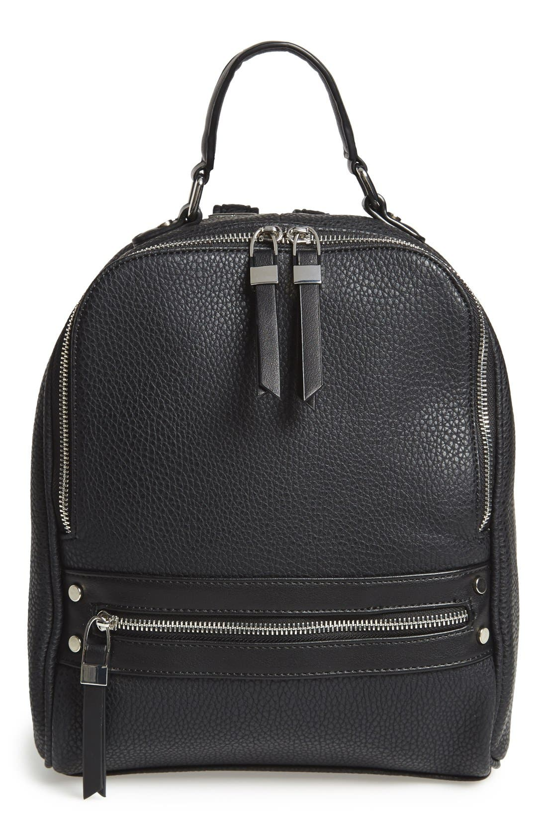'City' Backpack, Main, color, 001