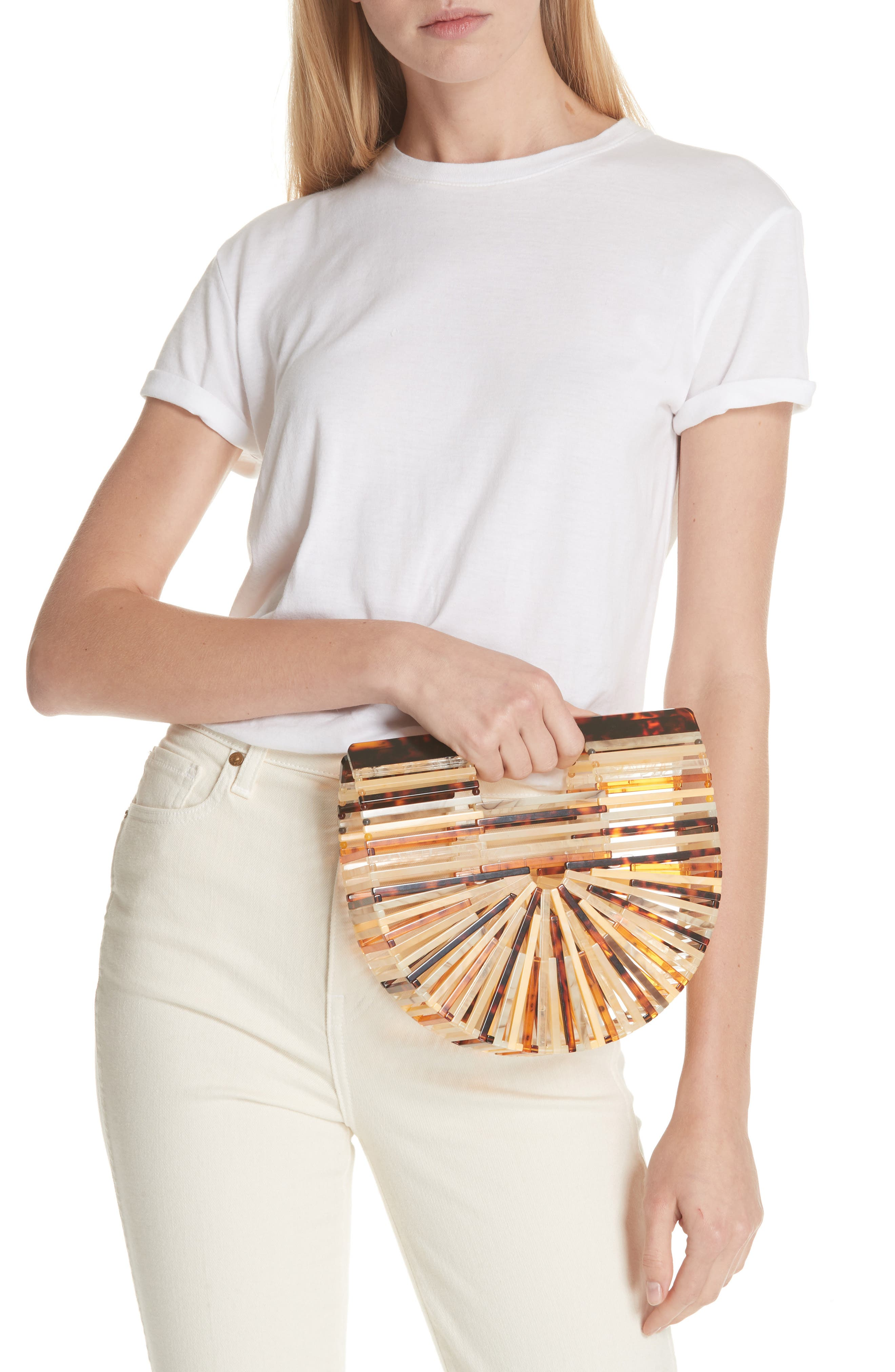 Mini Ark Handbag,                             Alternate thumbnail 2, color,                             TORTOISE