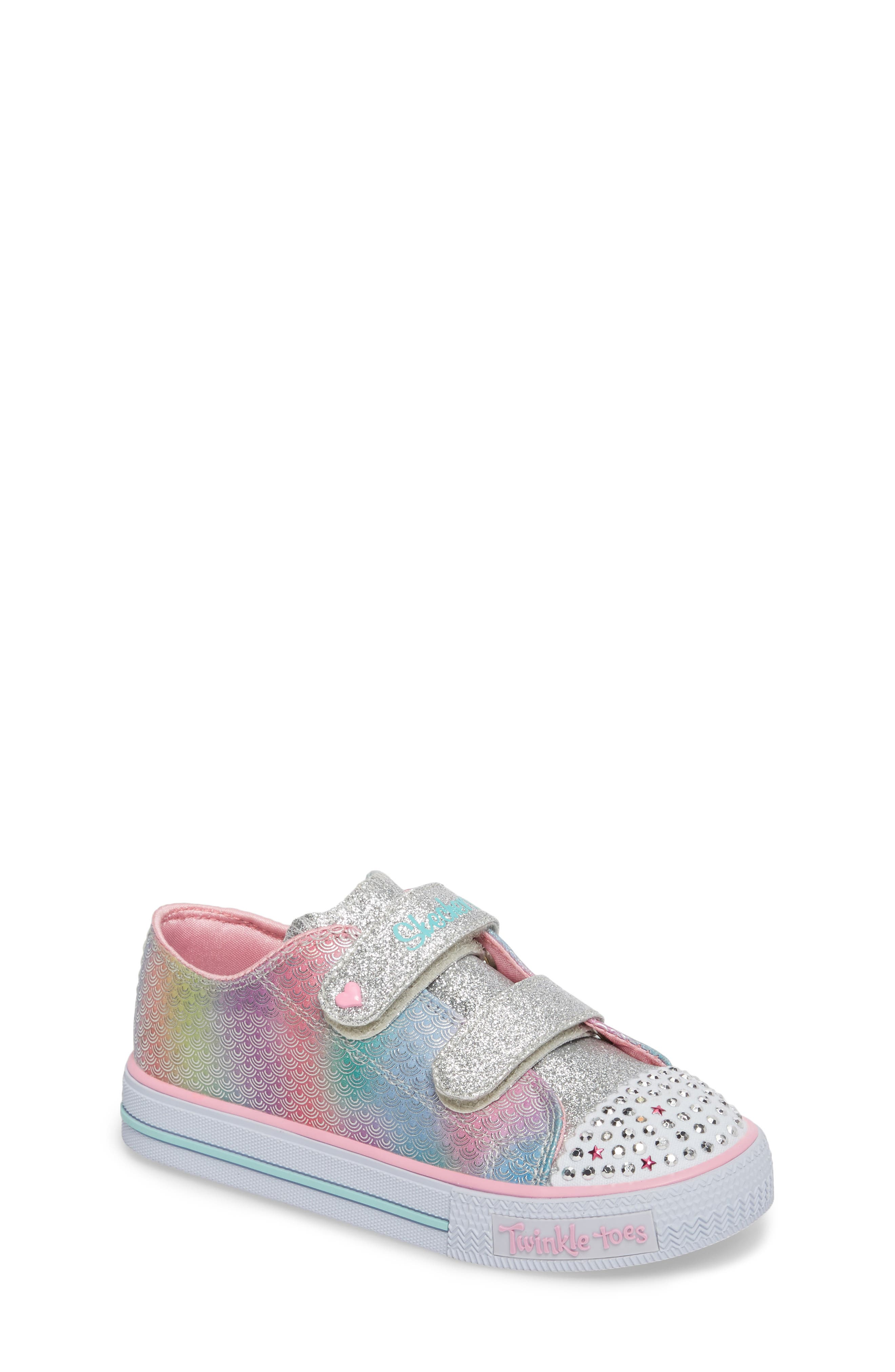Shuffles - Itsy Bitsy Light-Up Sneaker,                             Main thumbnail 2, color,