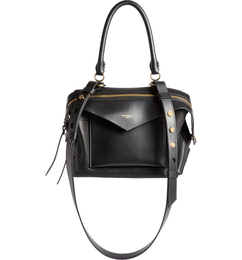 cc04097b4ee7 Givenchy Small Sway Leather Satchel