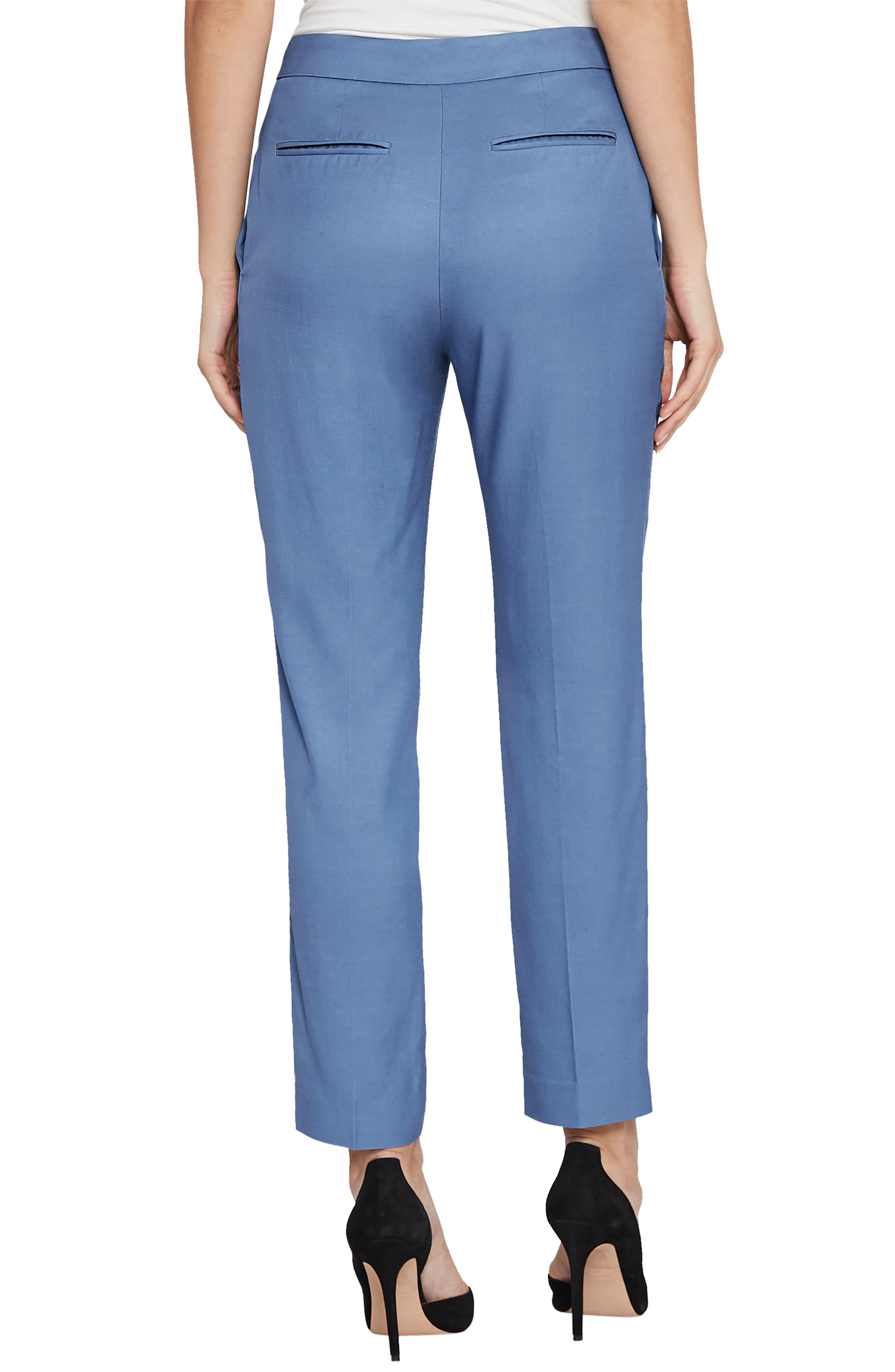 Etta Wool Blend Trousers,                             Alternate thumbnail 2, color,                             410