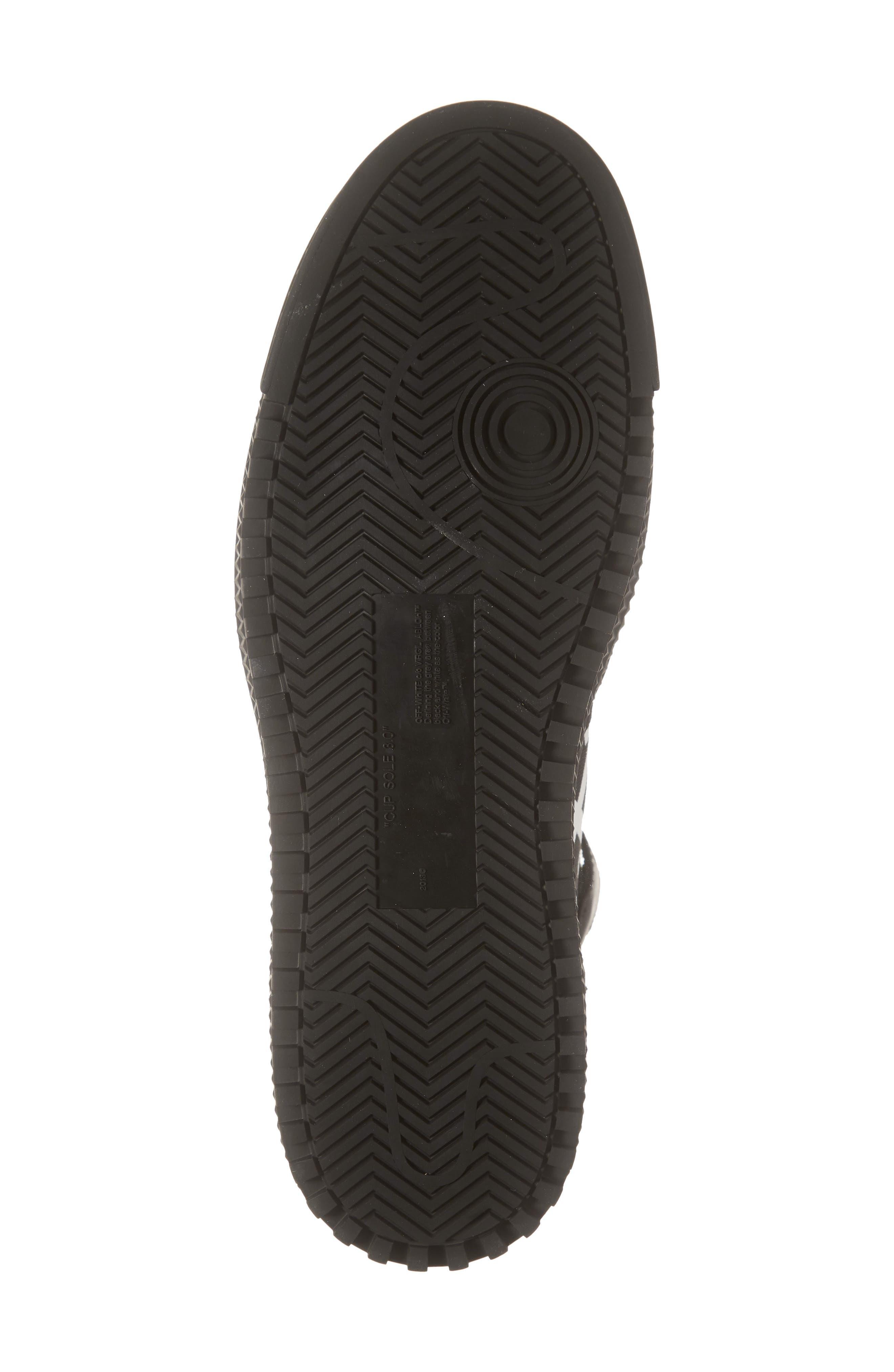 OFF-WHITE,                             Off Court Sneaker,                             Alternate thumbnail 6, color,                             BLACK