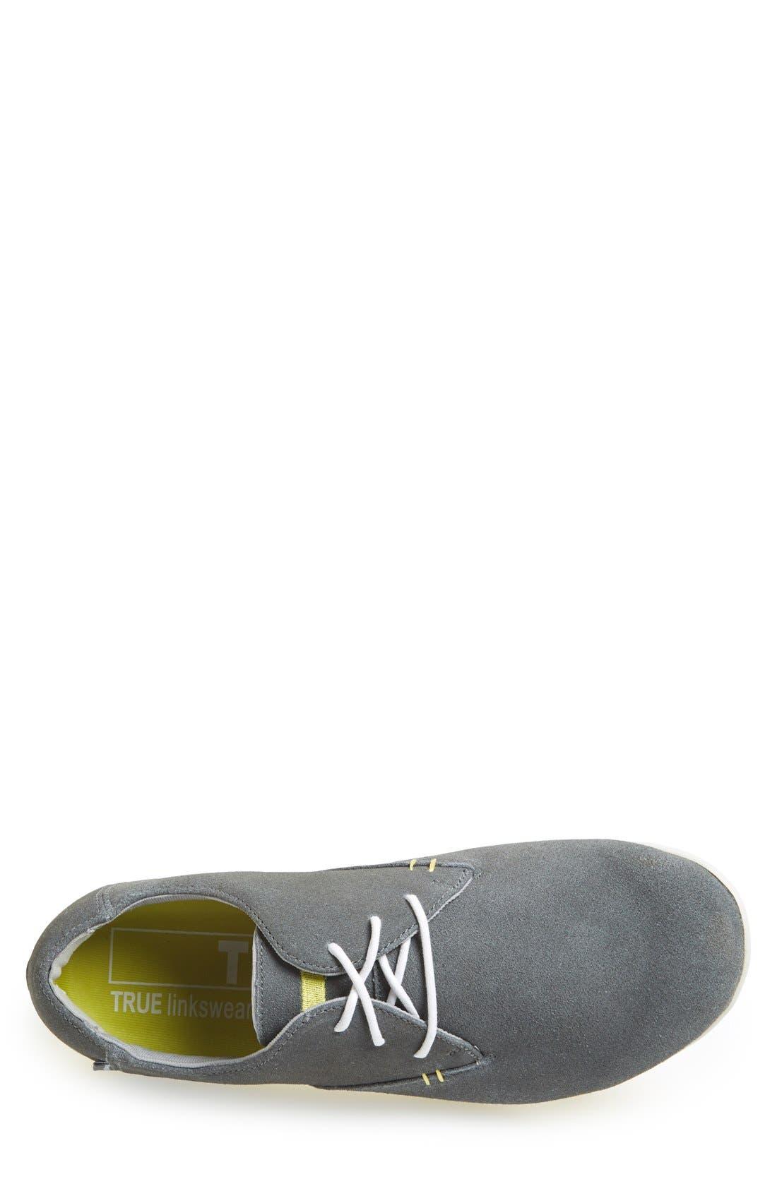 TRUE LINKSWEAR,                             'True Oxford' Golf Shoe,                             Alternate thumbnail 3, color,                             020