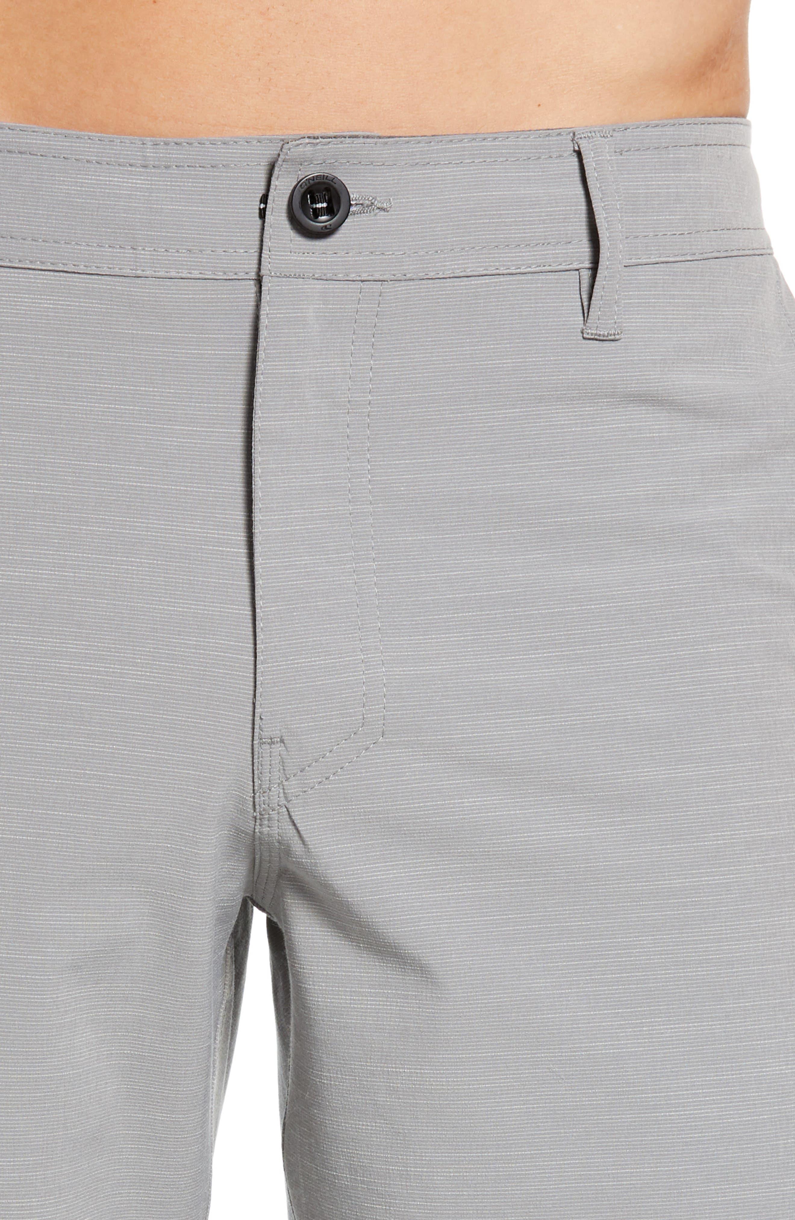 Locked Slub Hybrid Shorts,                             Alternate thumbnail 4, color,                             039