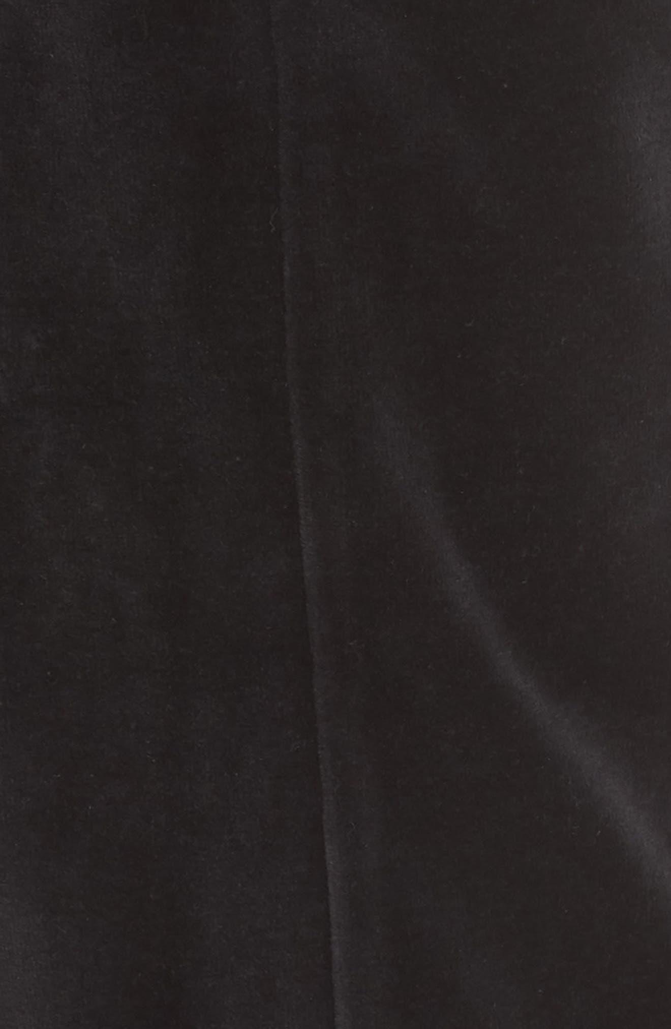 Iris Track Pants,                             Alternate thumbnail 5, color,                             BLACK