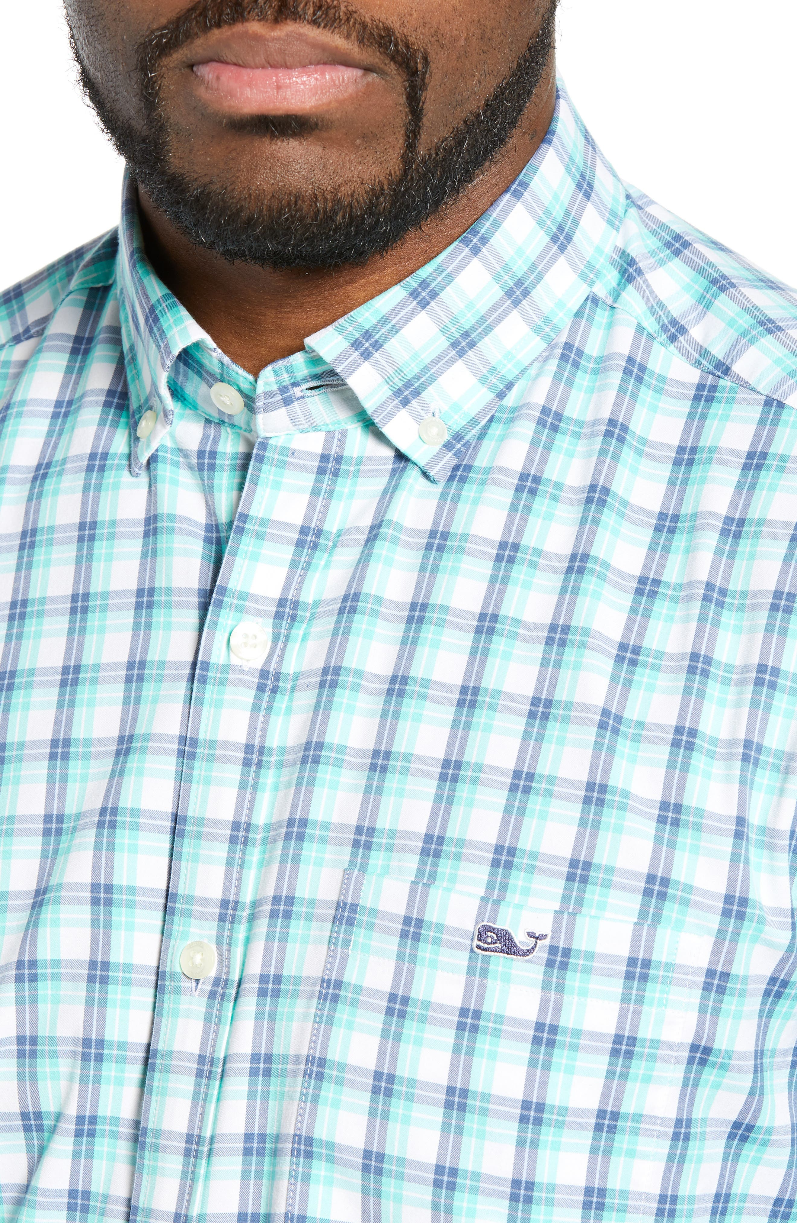 VINEYARD VINES,                             South Street Tucker Slim Fit Sport Shirt,                             Alternate thumbnail 2, color,                             CAPRI BLUE