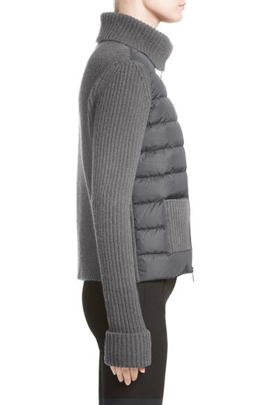 775568413 Moncler Ciclista Quilted Down Front Sweater Jacket