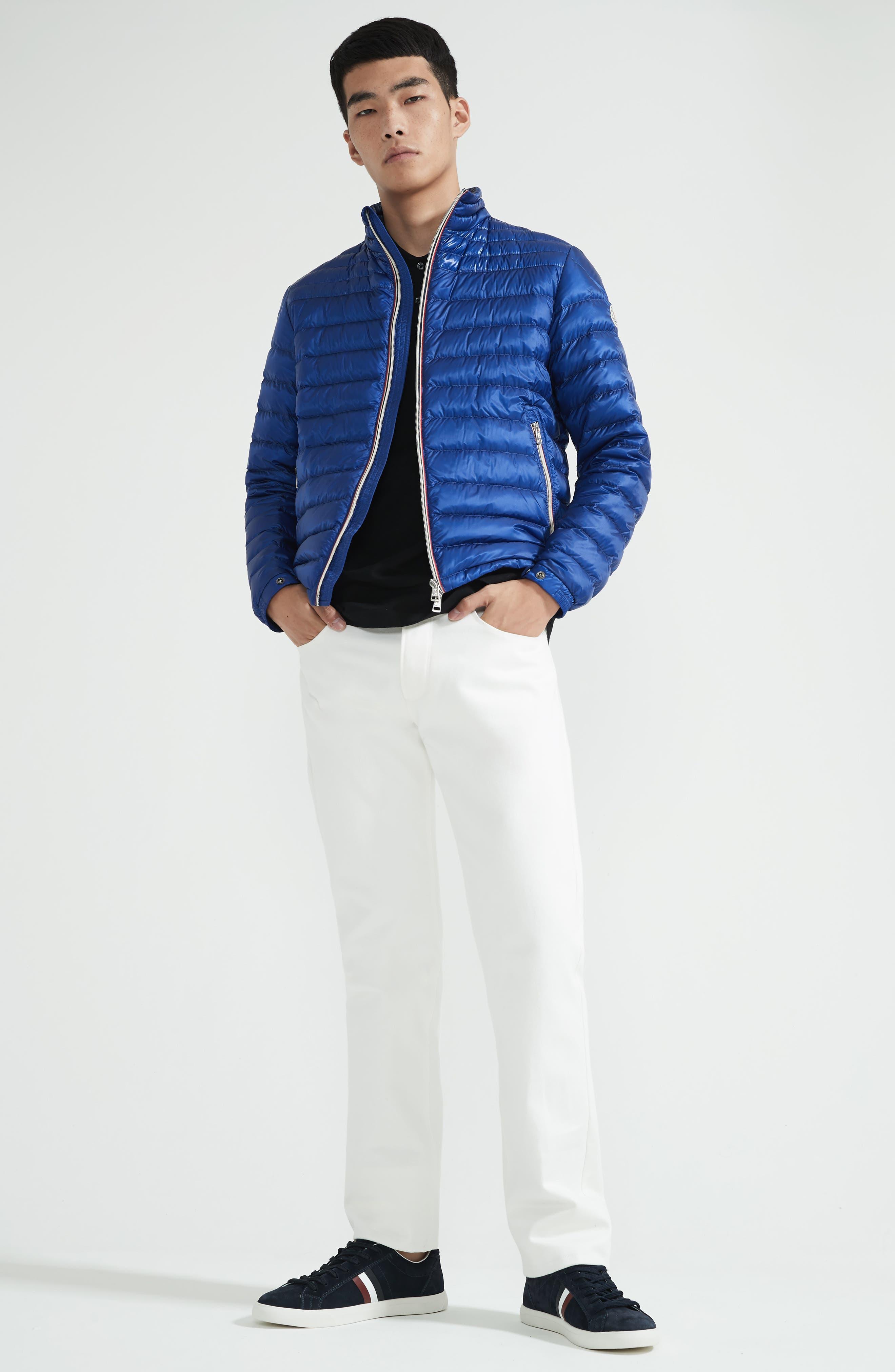 Striped Collar Polo Shirt,                             Alternate thumbnail 7, color,                             001