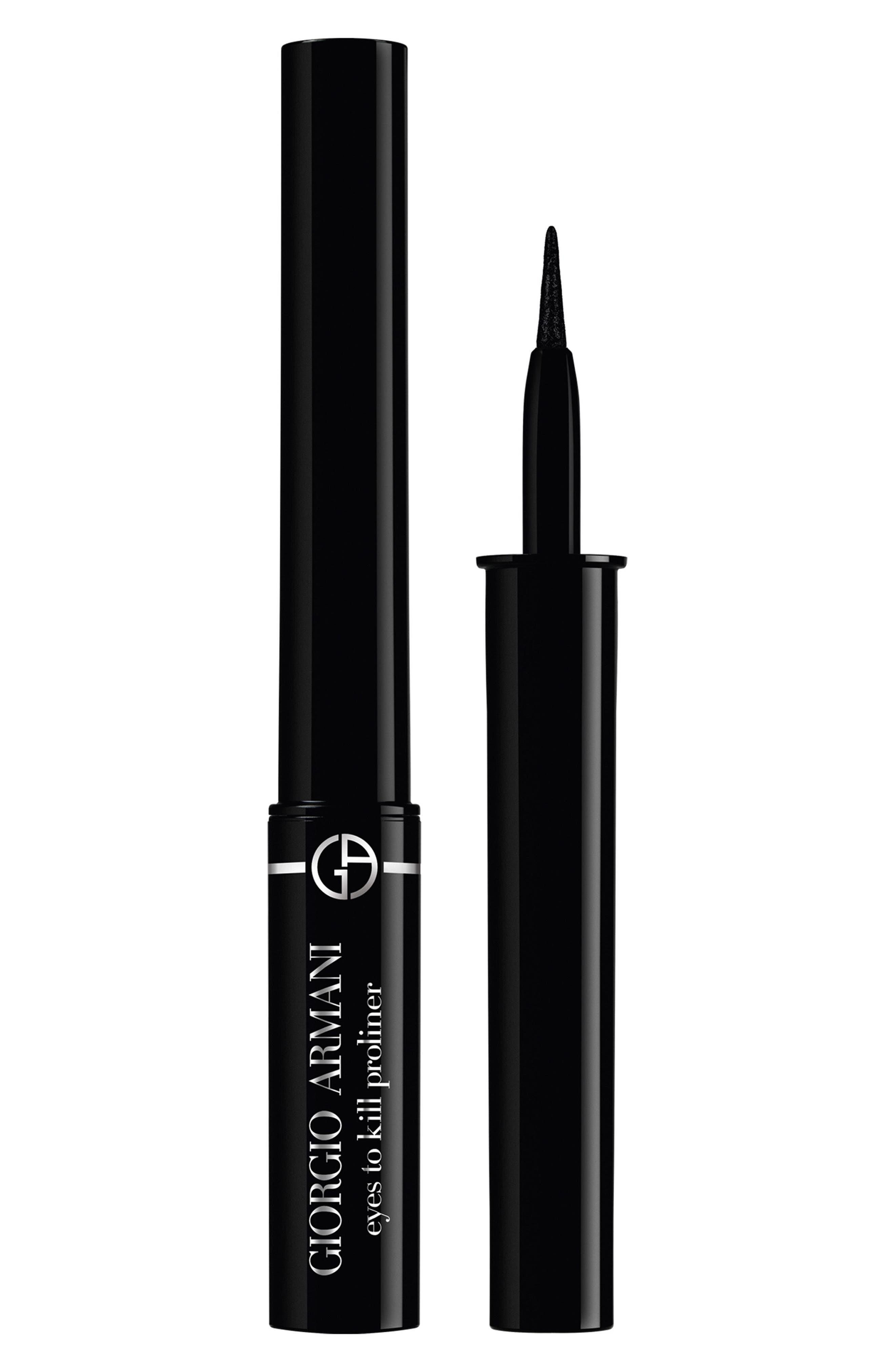 GIORGIO ARMANI,                             Eyes to Kill Proliner Eyeliner,                             Main thumbnail 1, color,                             1 OBSIDIAN BLACK