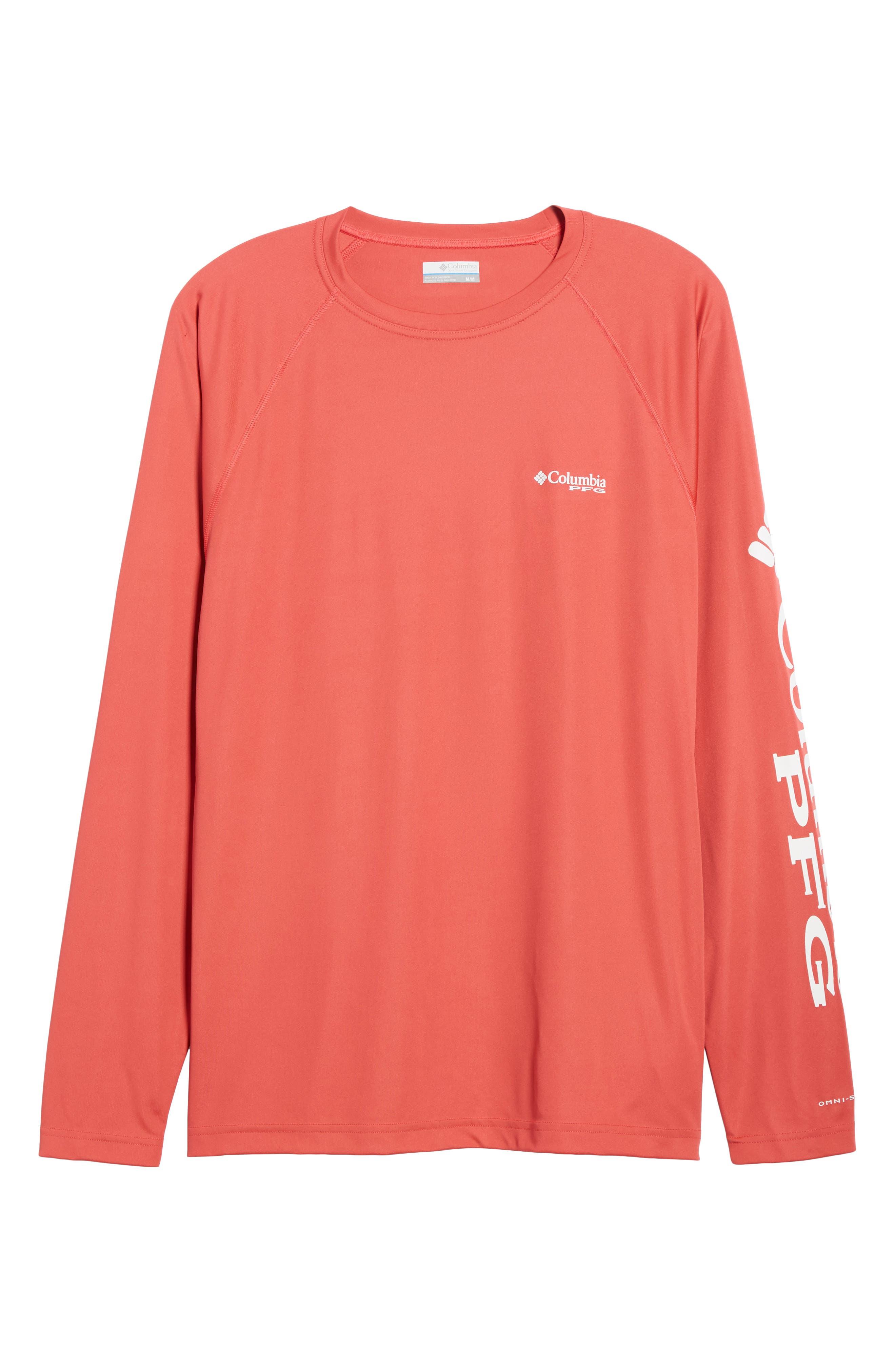 PFG Terminal Tackle Performance Long Sleeve T-Shirt,                             Alternate thumbnail 54, color,