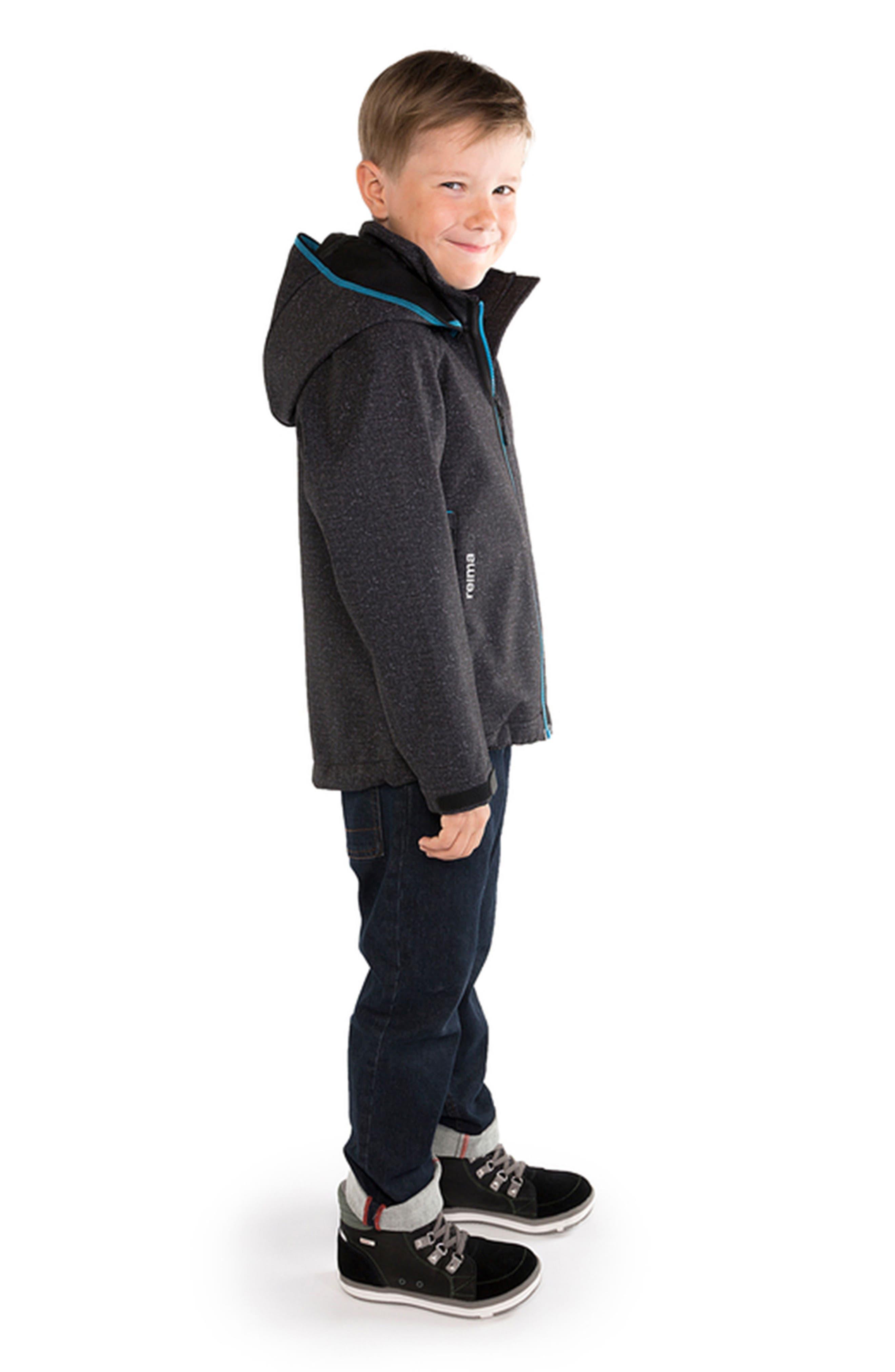 Zayak Waterproof Hooded Jacket,                             Alternate thumbnail 5, color,                             020