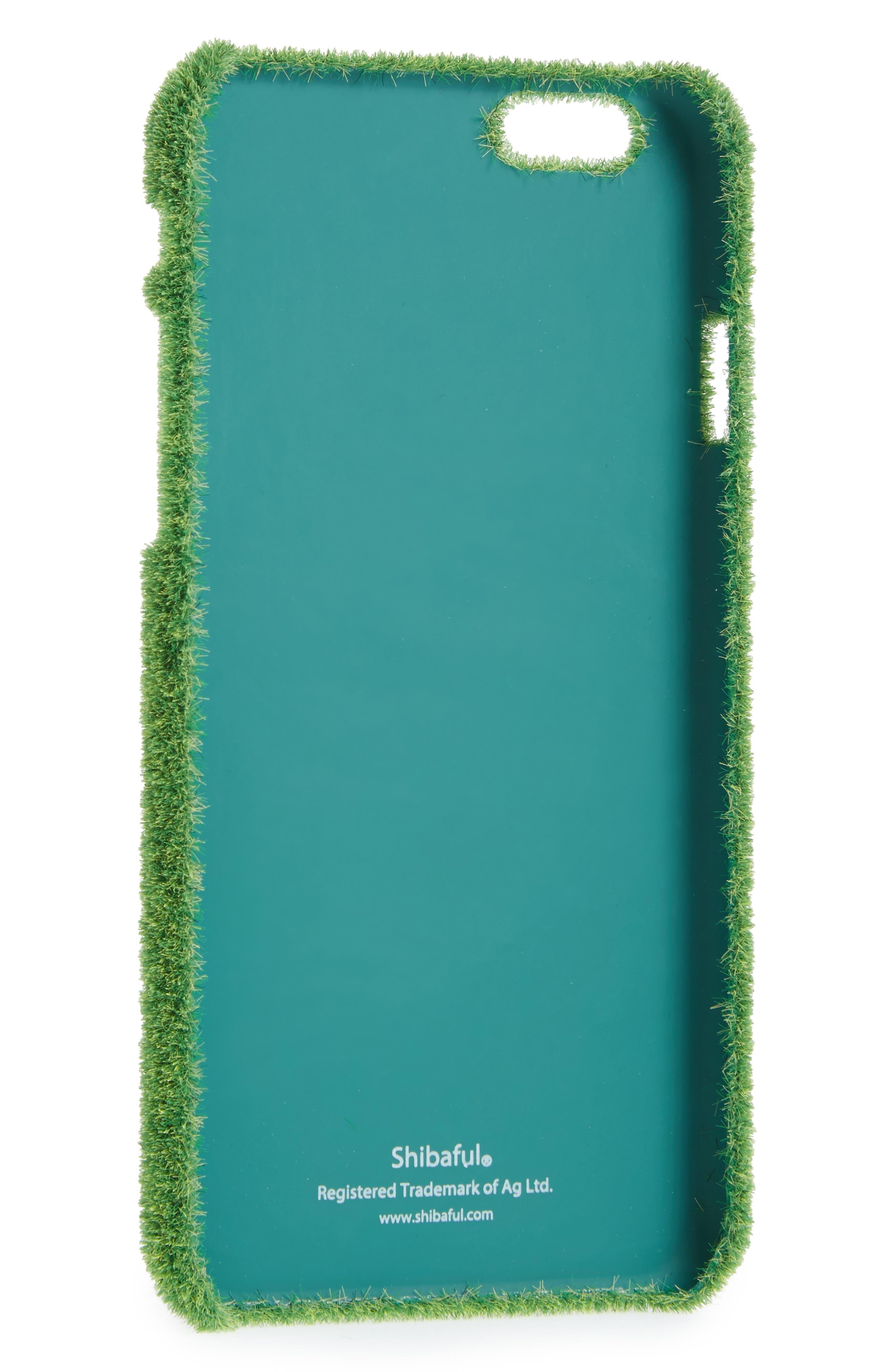 Grand Slam Portable Park iPhone 6/6s & 6/6s Plus Case,                             Main thumbnail 1, color,                             GREEN