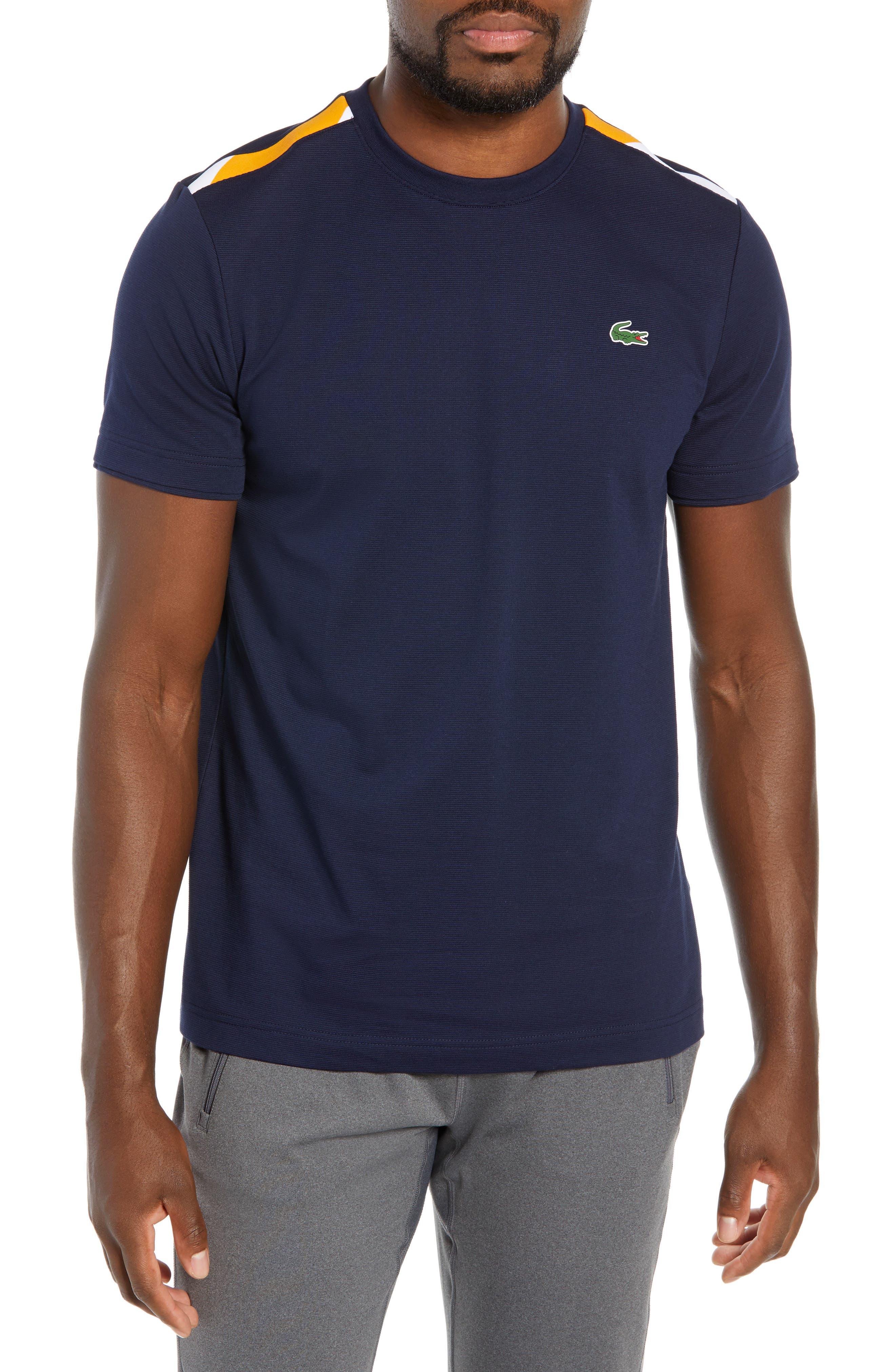 Sport Regular Fit Cotton Tennis T-Shirt,                             Main thumbnail 1, color,                             415