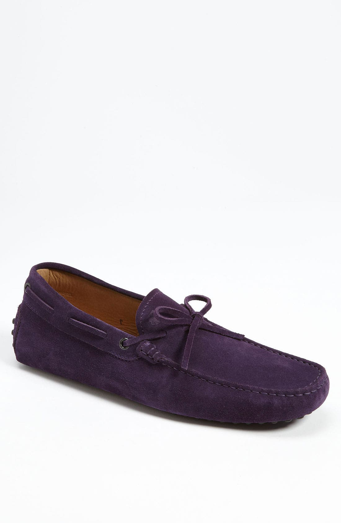 Gommini Tie Front Driving Moccasin,                             Main thumbnail 15, color,