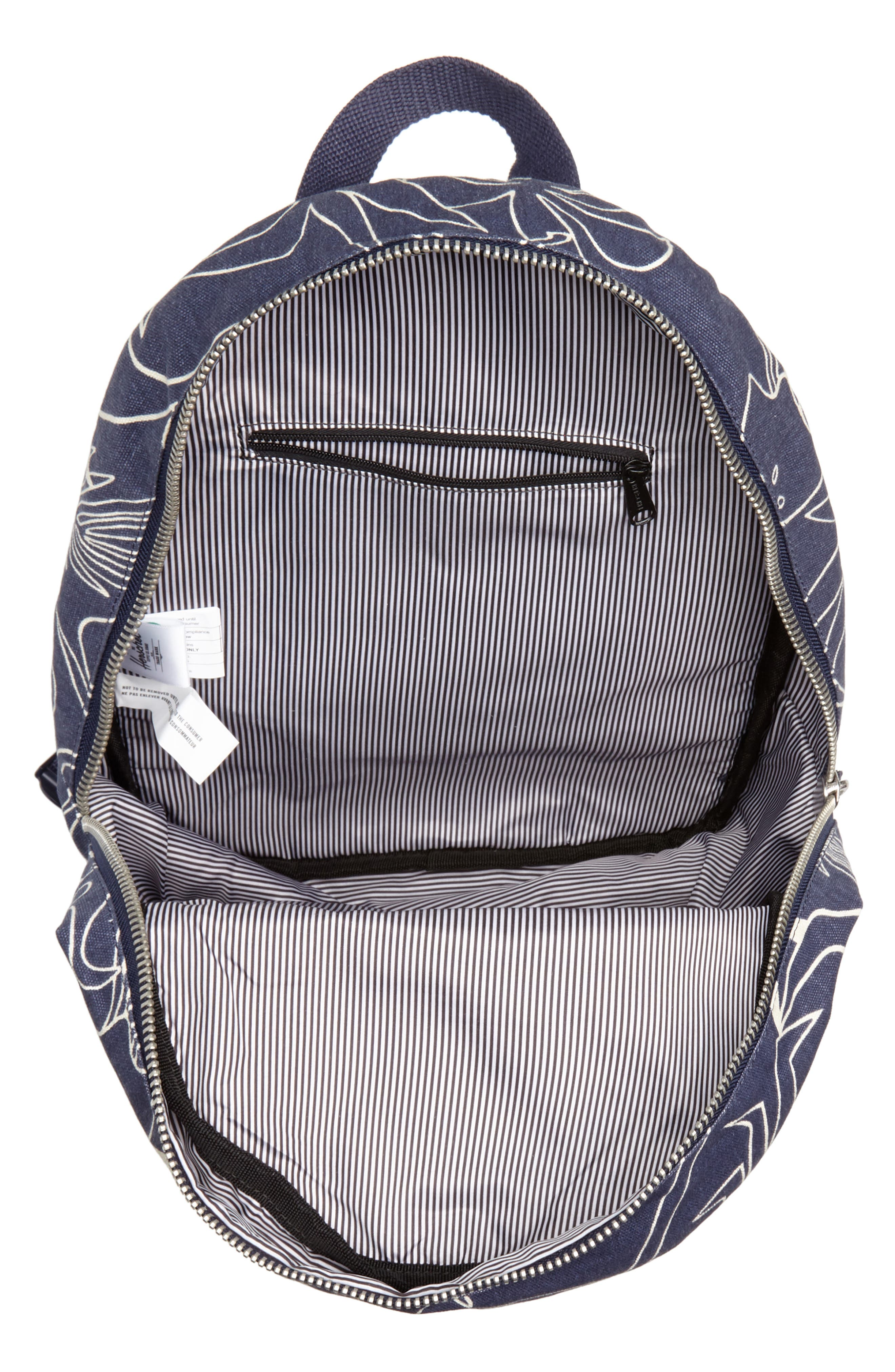 X-Small Grove Cotton Canvas Backpack,                             Alternate thumbnail 16, color,