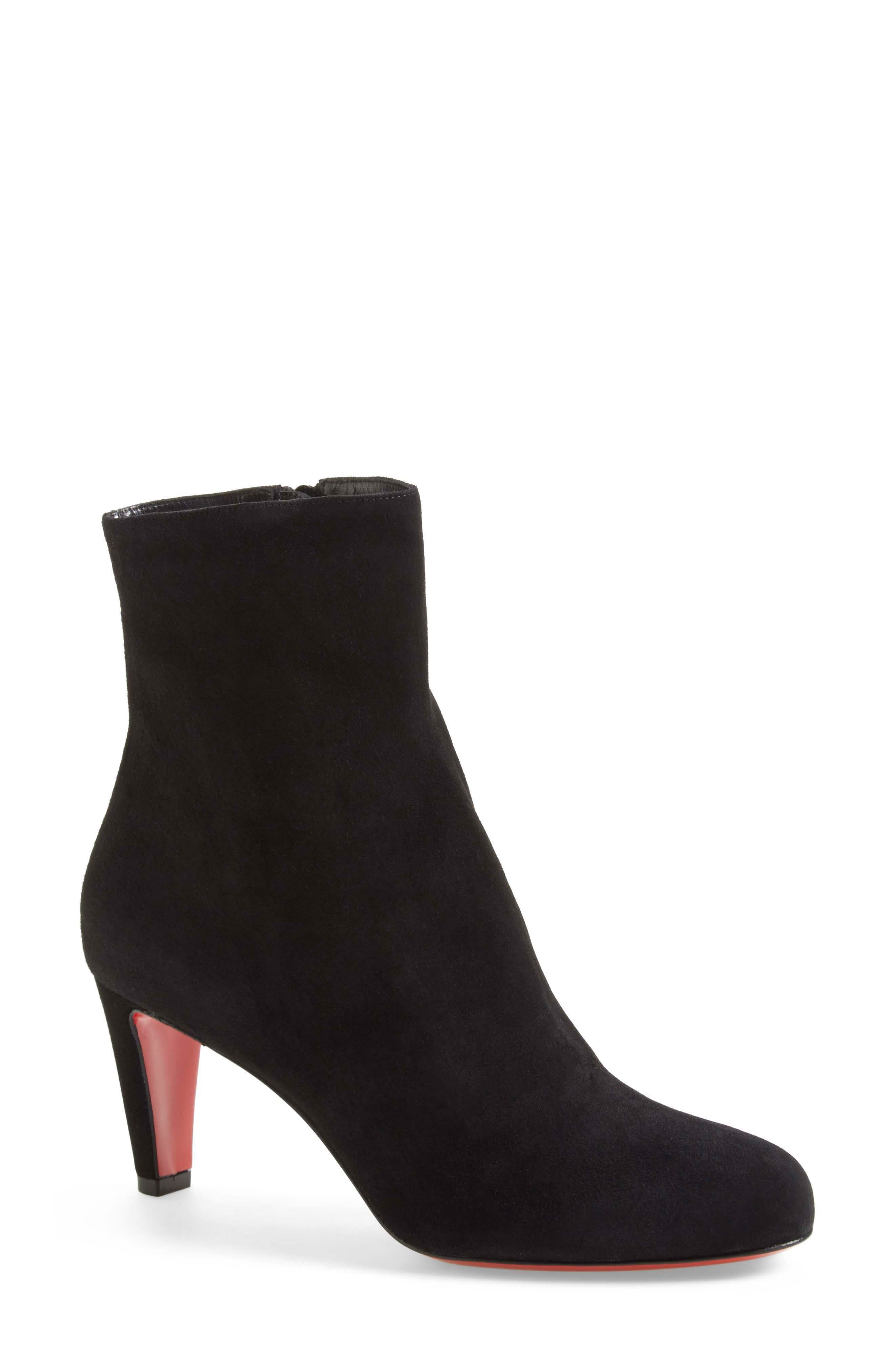 'Top' Ankle Bootie,                         Main,                         color, 001